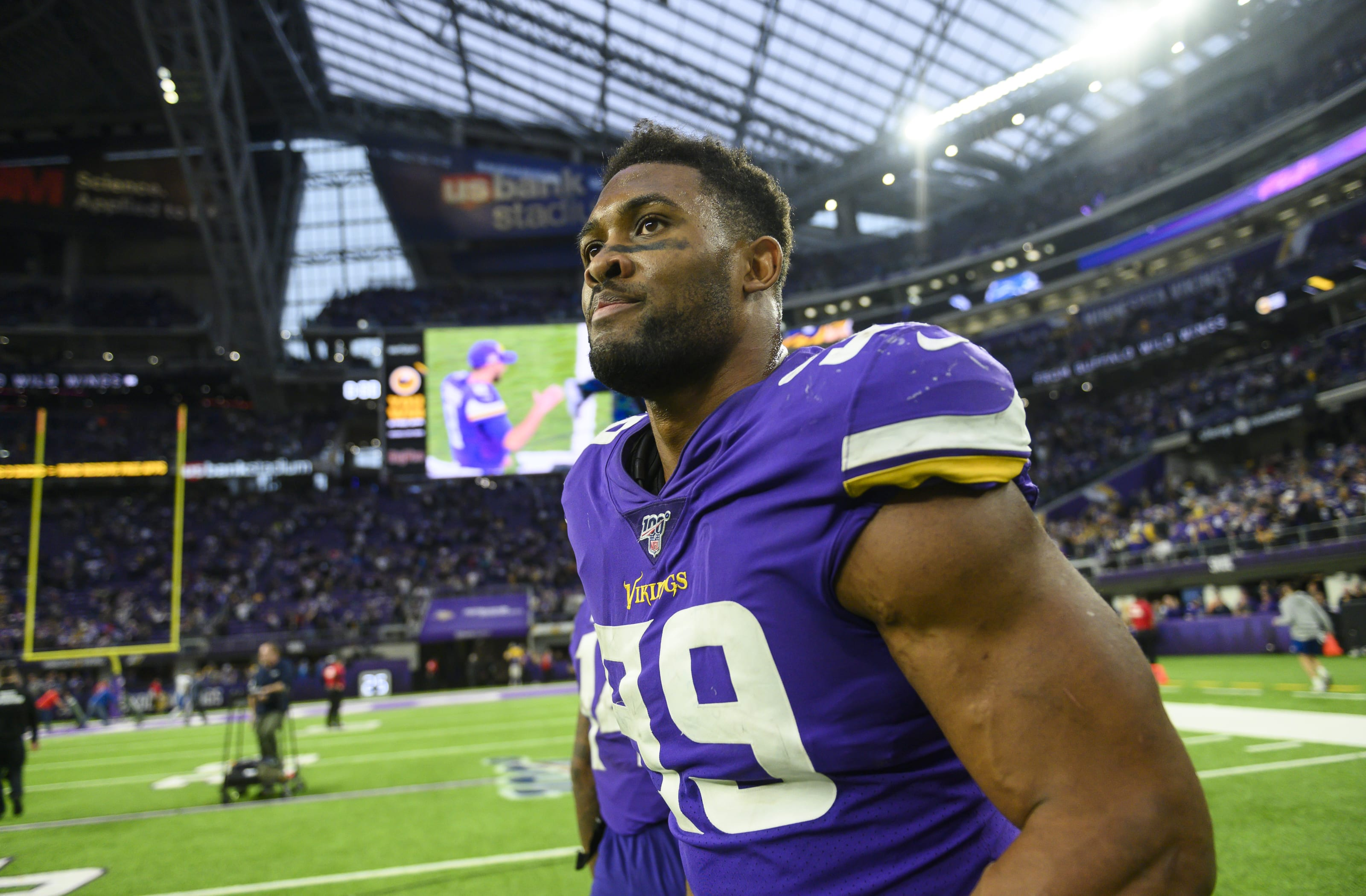 Danielle Hunter - Minnesota Vikings Photo by Stephen Maturen/Getty Images)