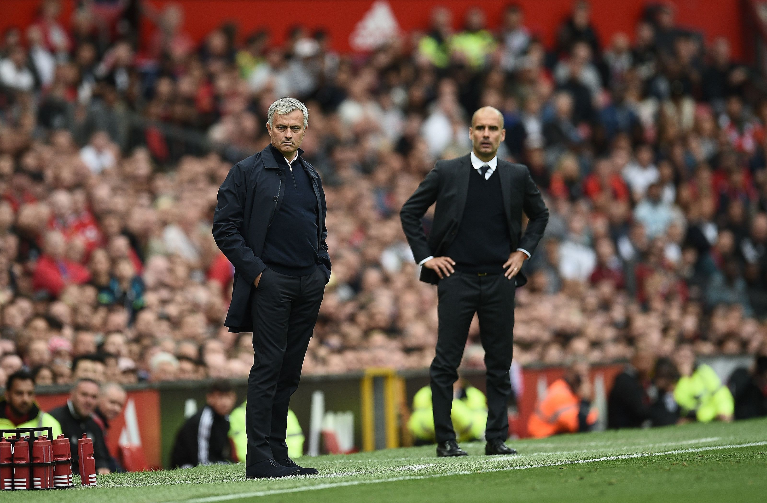 Mourinho Tottenham, Guardiola