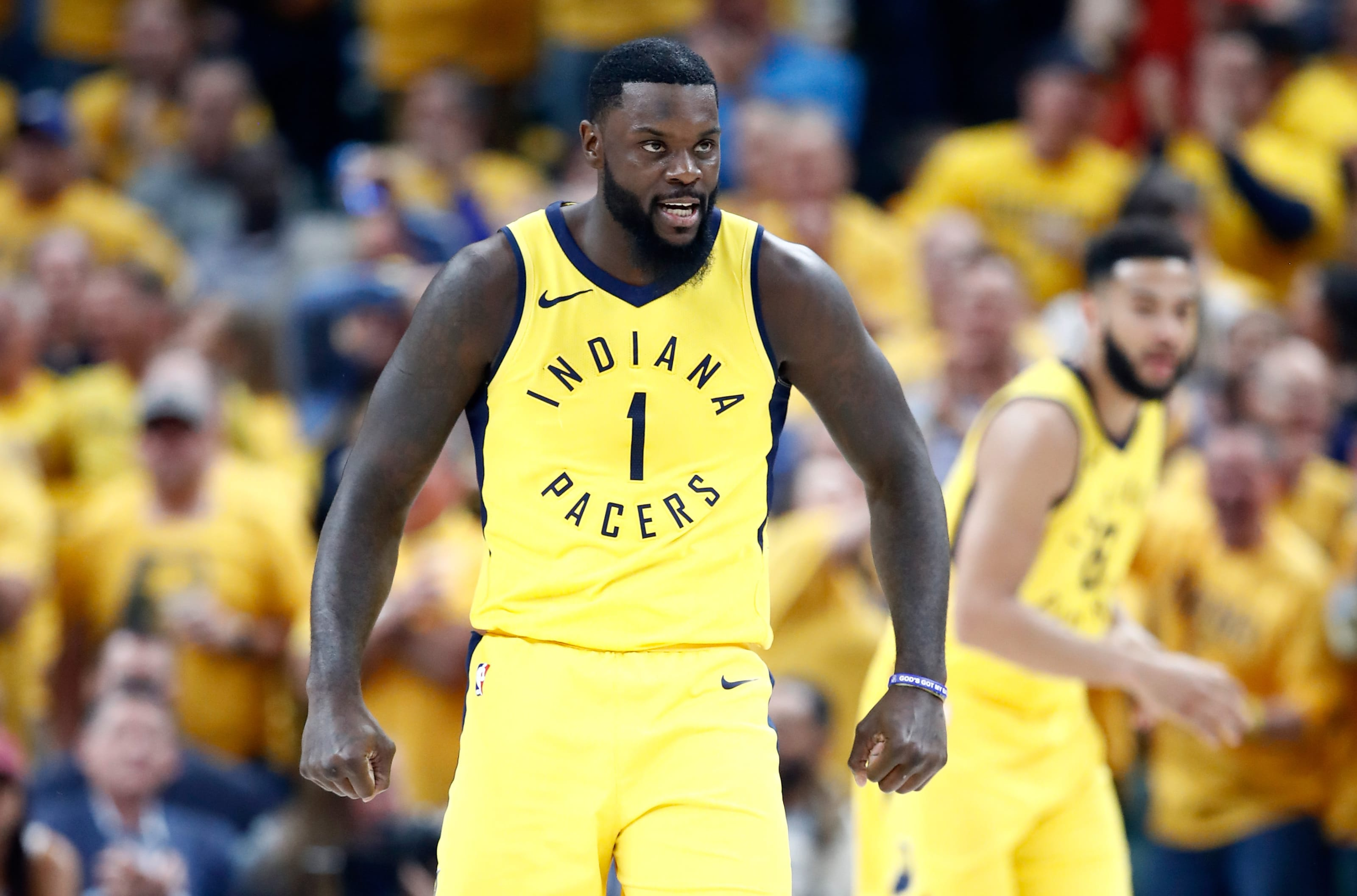 Indiana Pacers Lance Stephenson