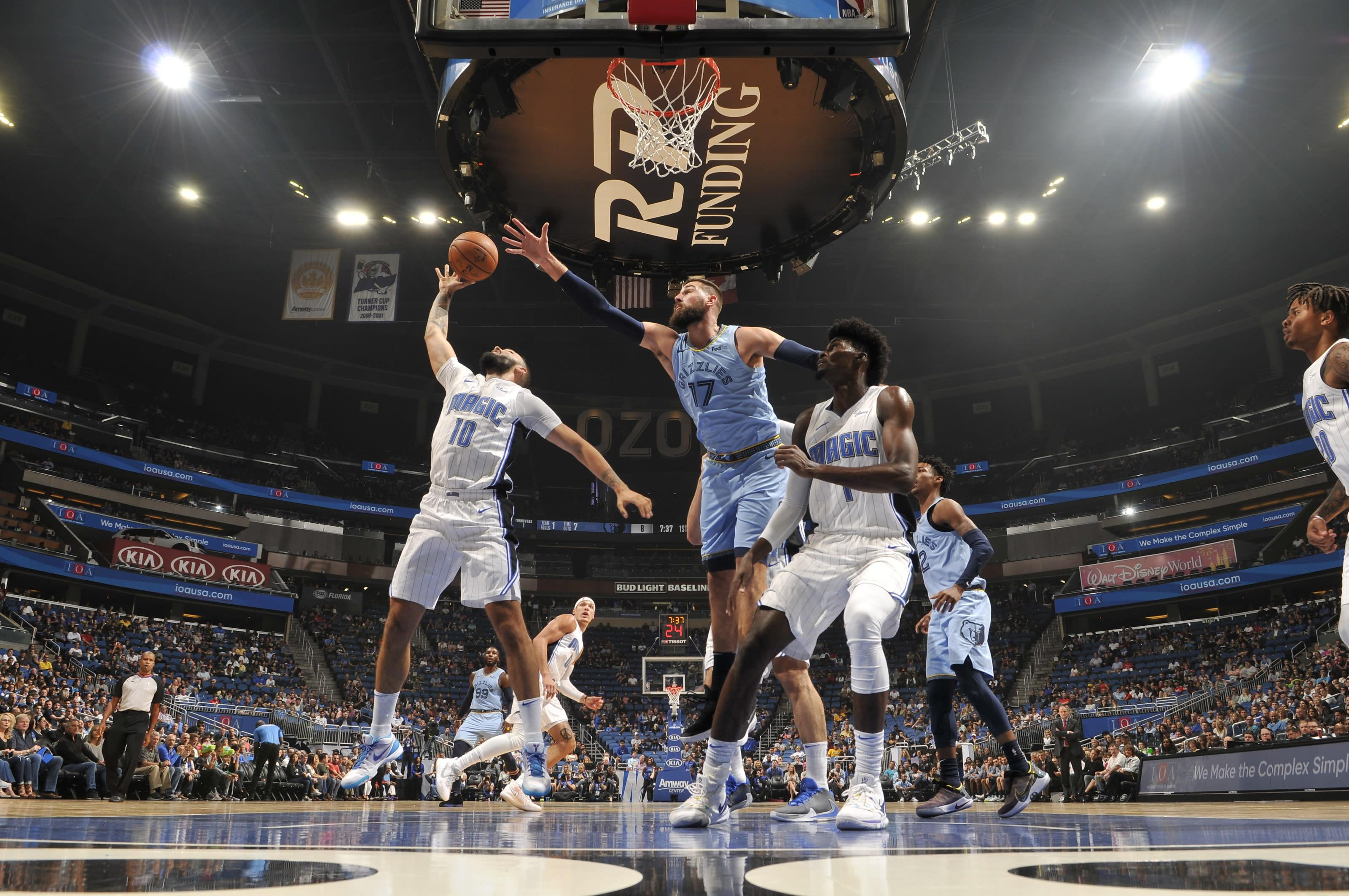Evan Fournier, Orlando Magic, Memphis Grizzlies