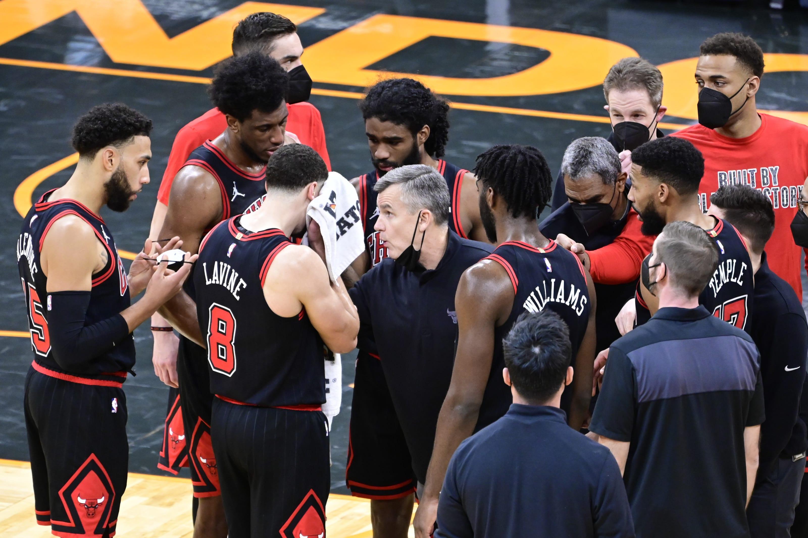 Chicago Bulls Zack LaVine