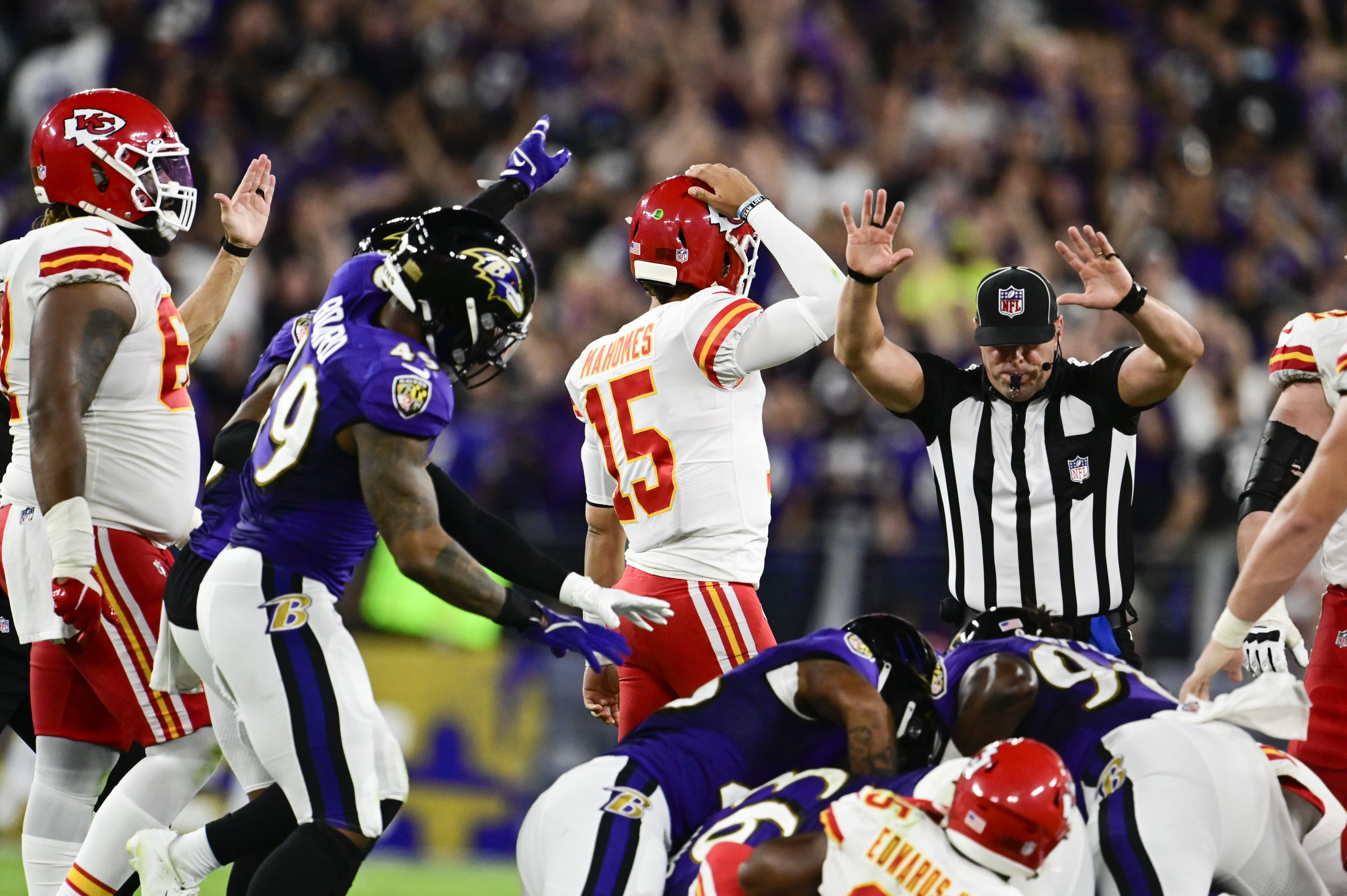 Kansas City Chiefs: Studs and duds from Week 2 vs. Ravens