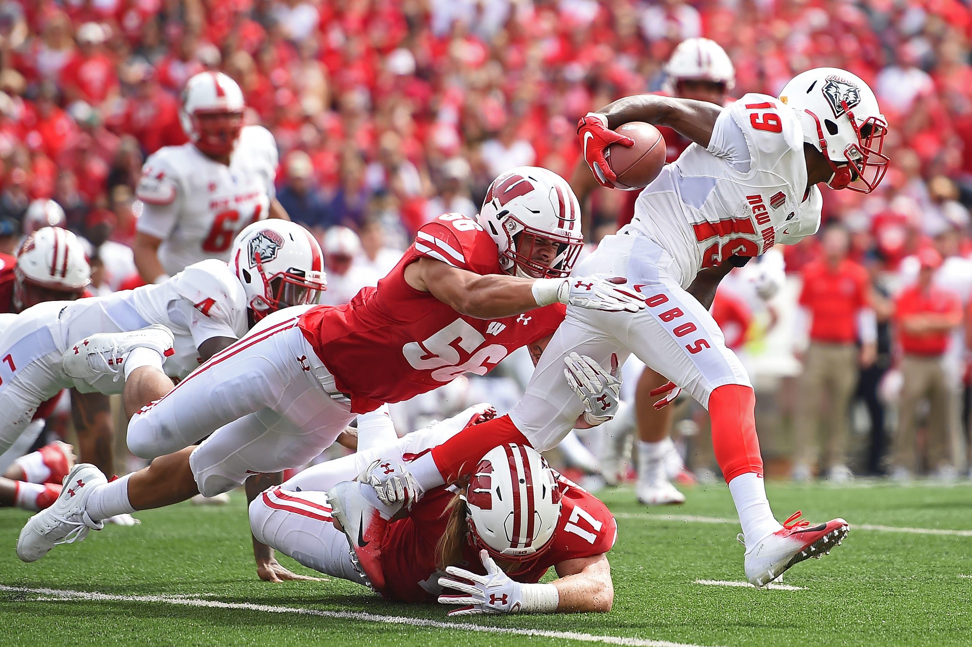 Wisconsin linebacker Zack Baun