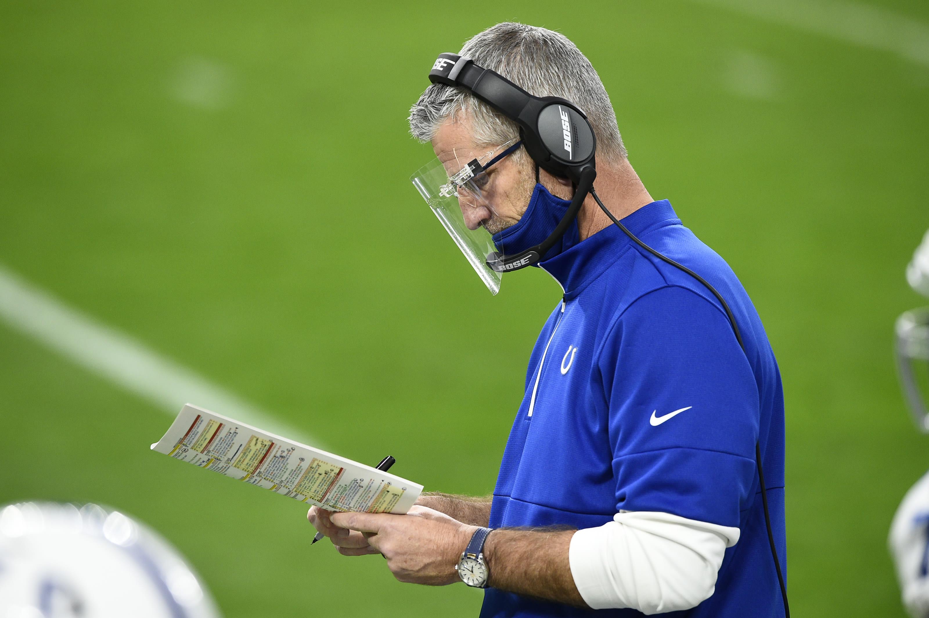 Colts mock draft, Frank Reich