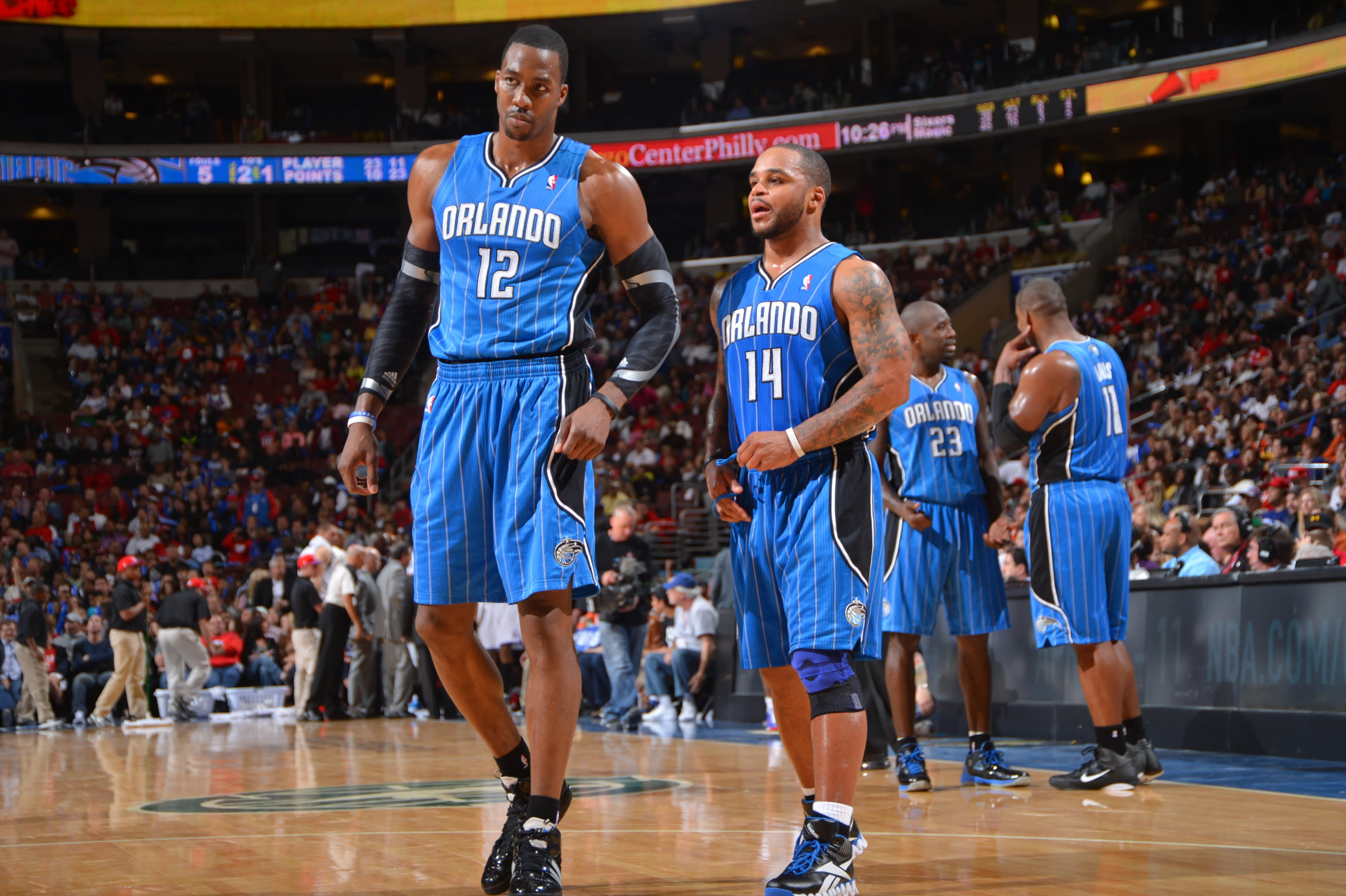 Dwight Howard, Jameer Nelson, Orlando Magic