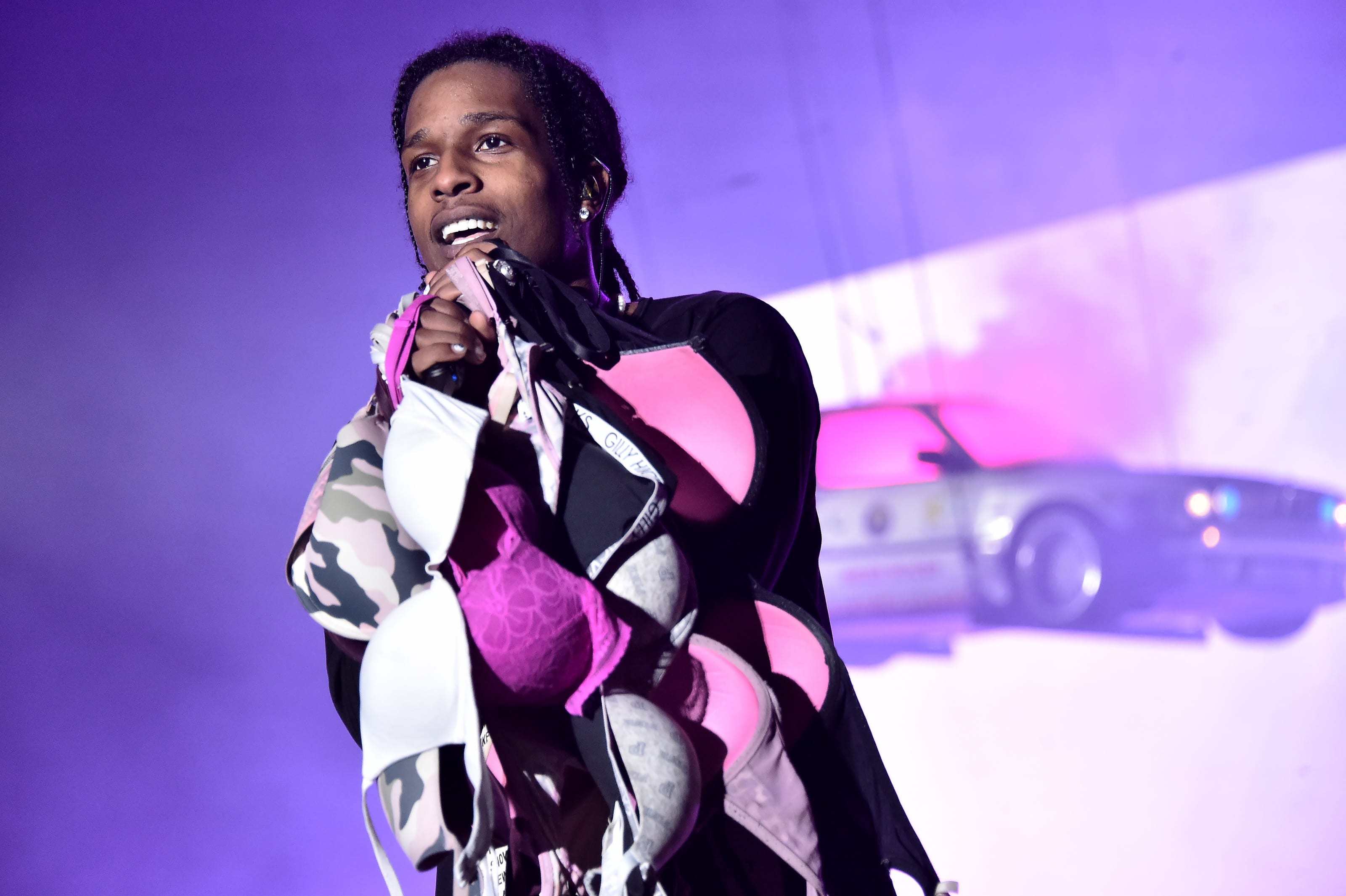 NEW YORK, NEW YORK - OCTOBER 13: A$AP Rocky (Photo by Steven Ferdman/Getty Images) From Cam'ron to Rocky