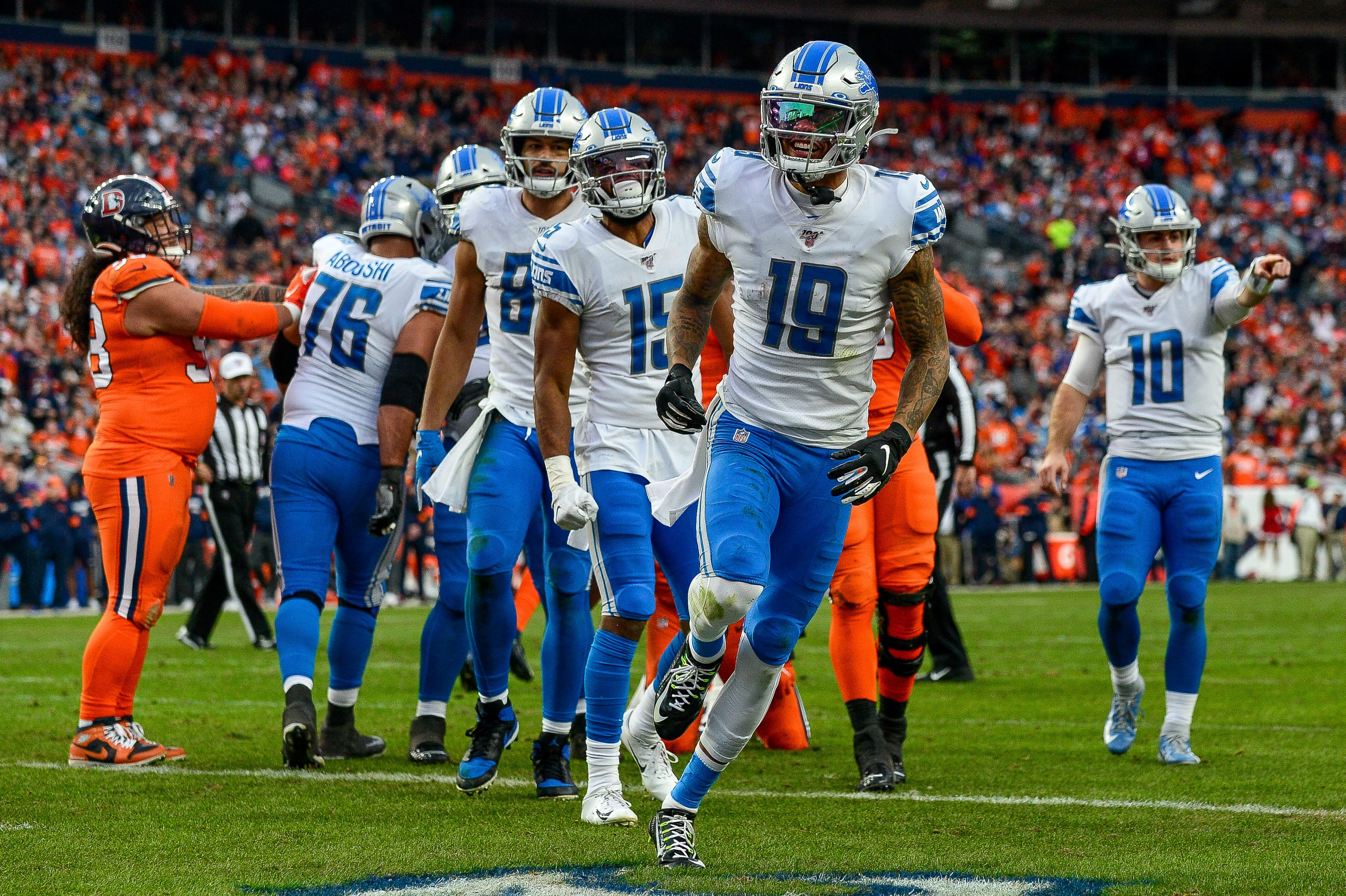 Kenny Golladay, Detroit Lions
