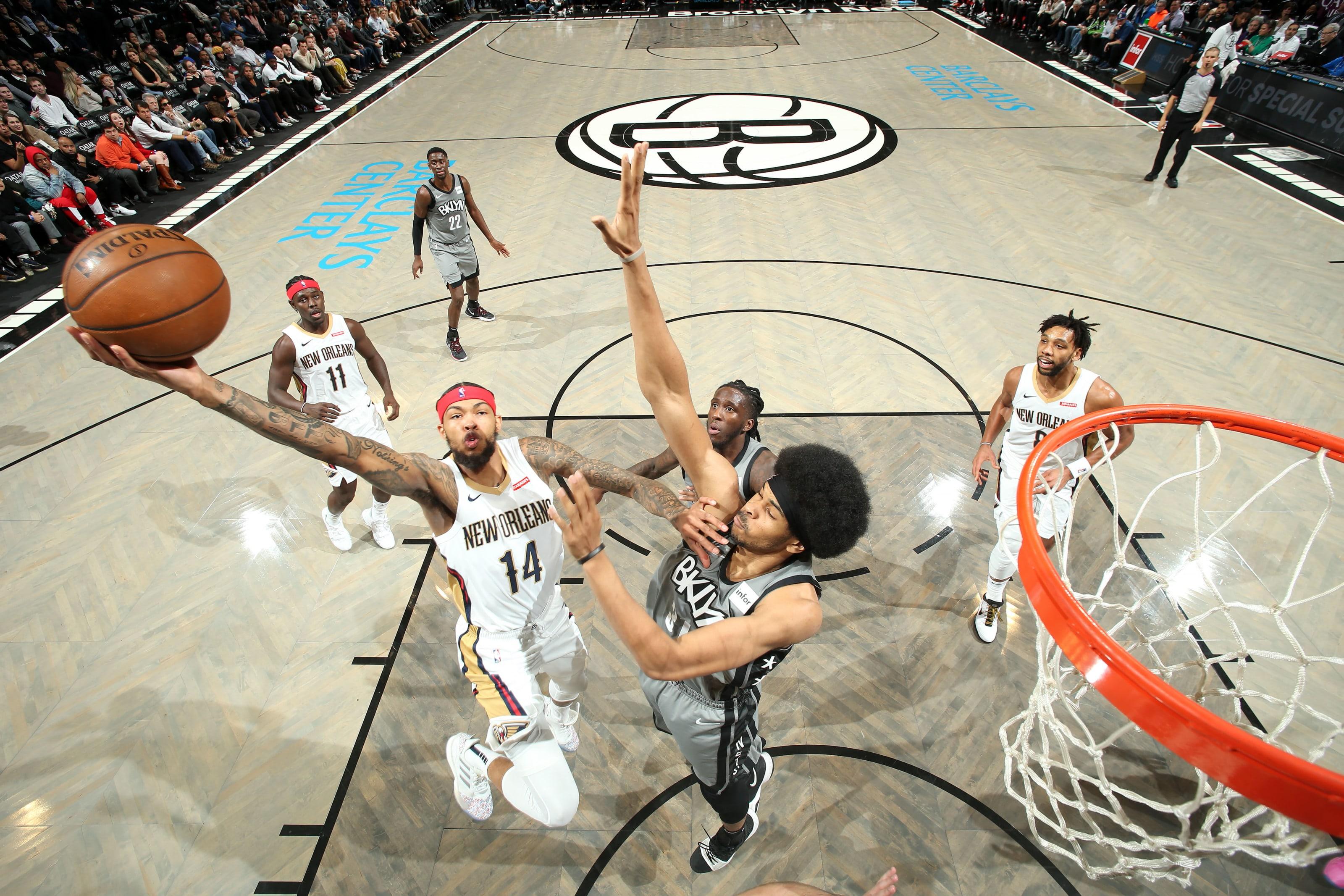 NBA New Orleans Pelicans Brandon Ingram