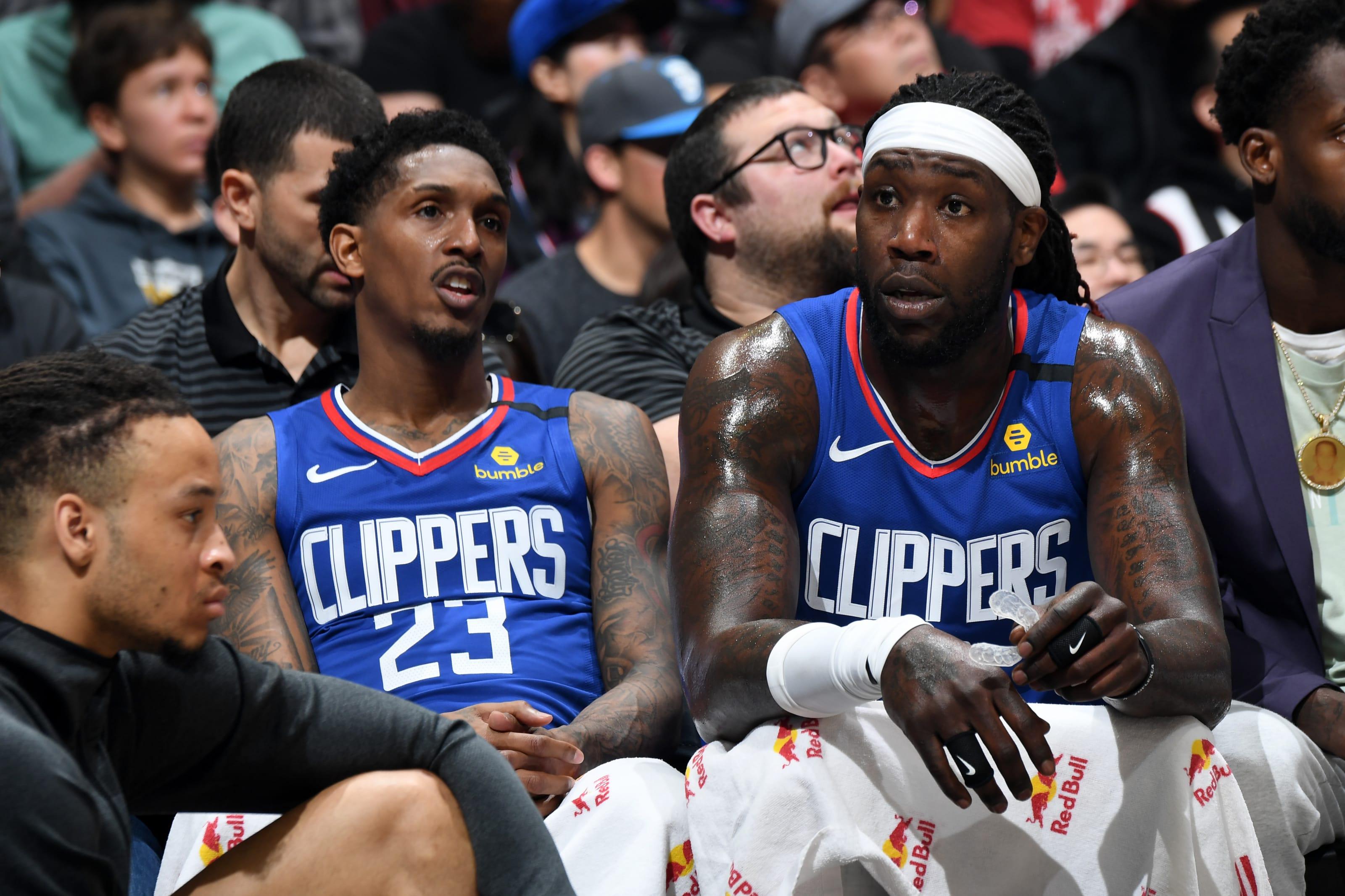 NBA LA Clippers Lou Williams Montrezl Harrell