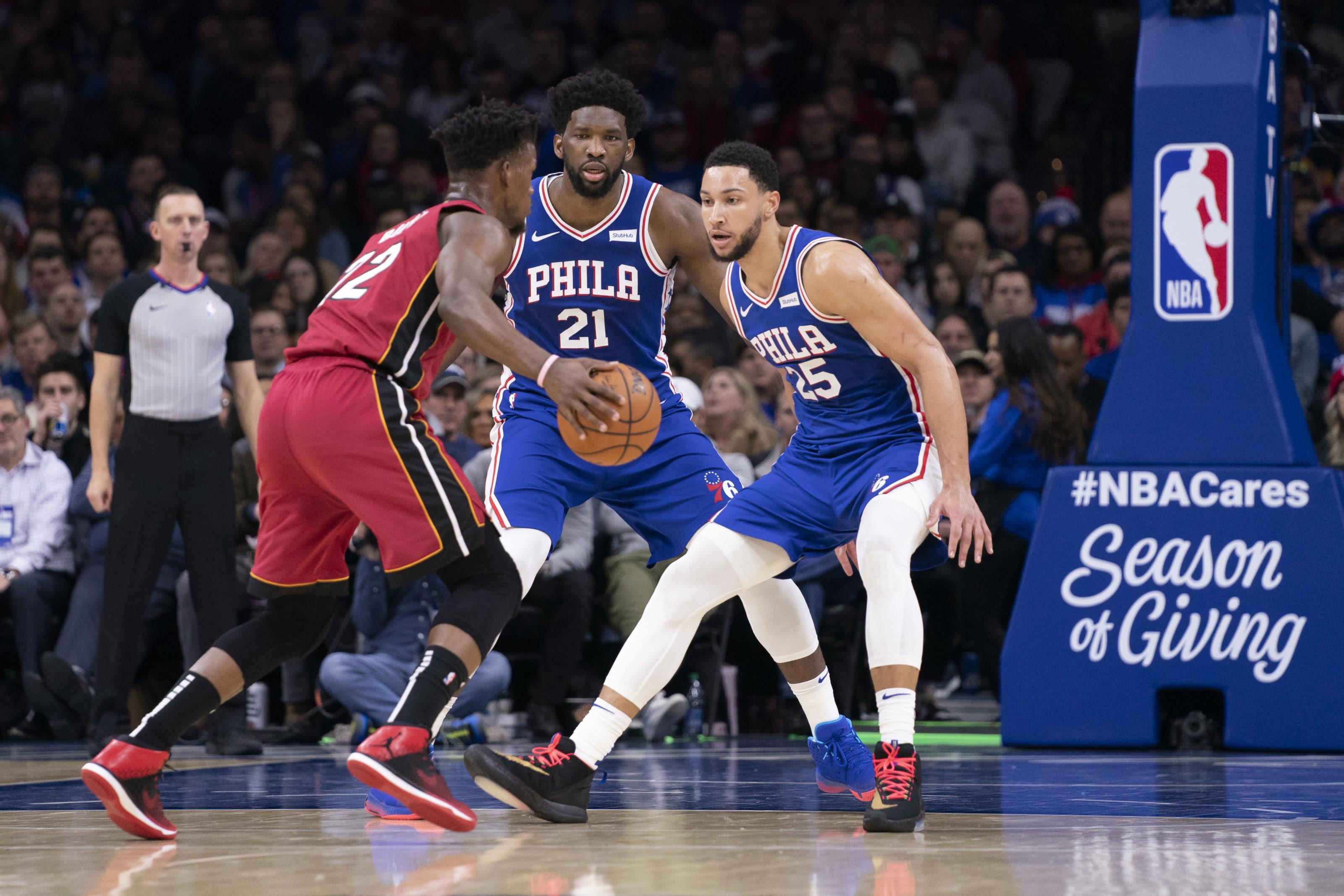 Philadelphia 76ers Starting Lineup Locks Fringe And Potential Break Ins