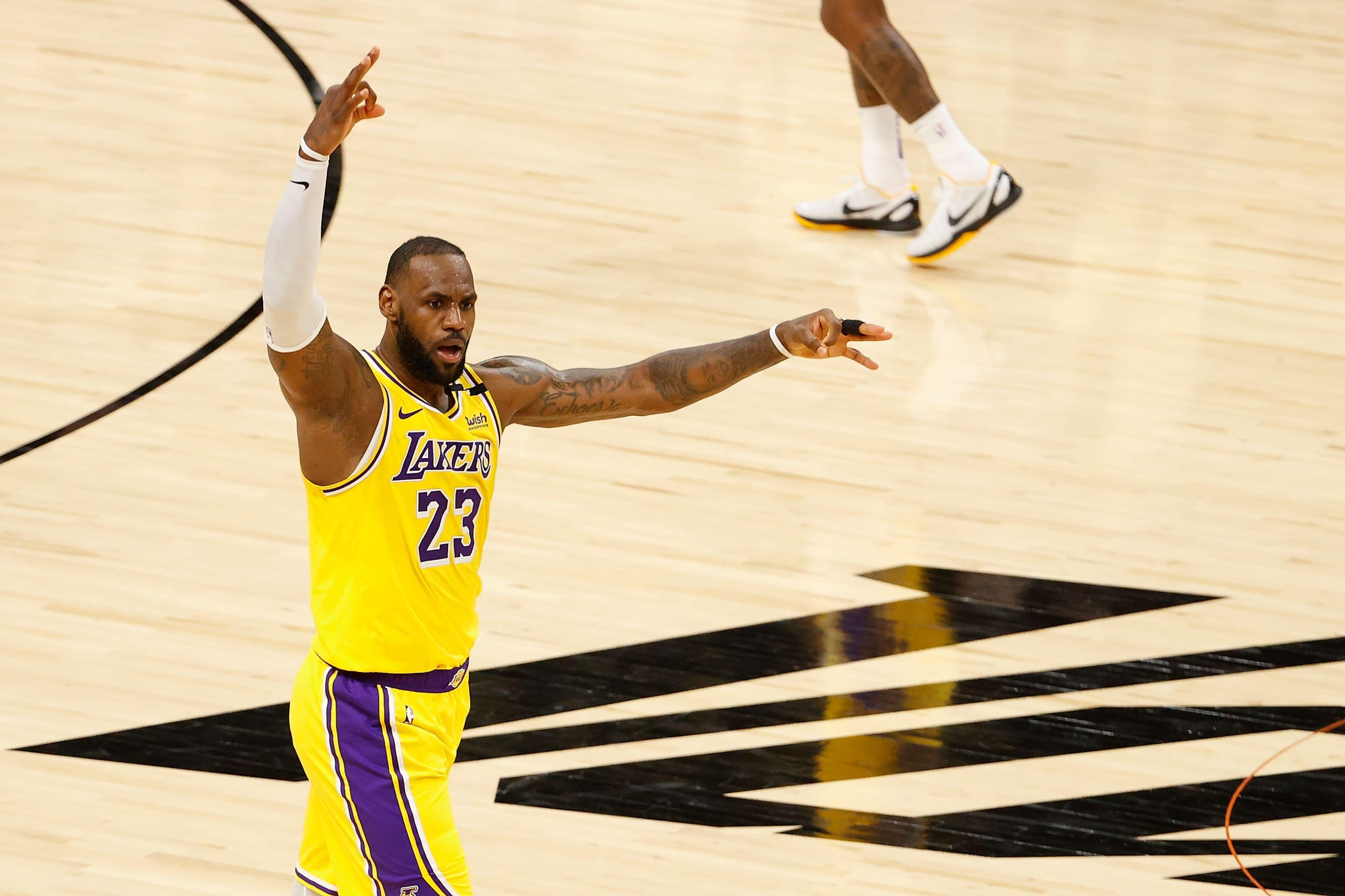 Los Angeles Lakers: LeBron James