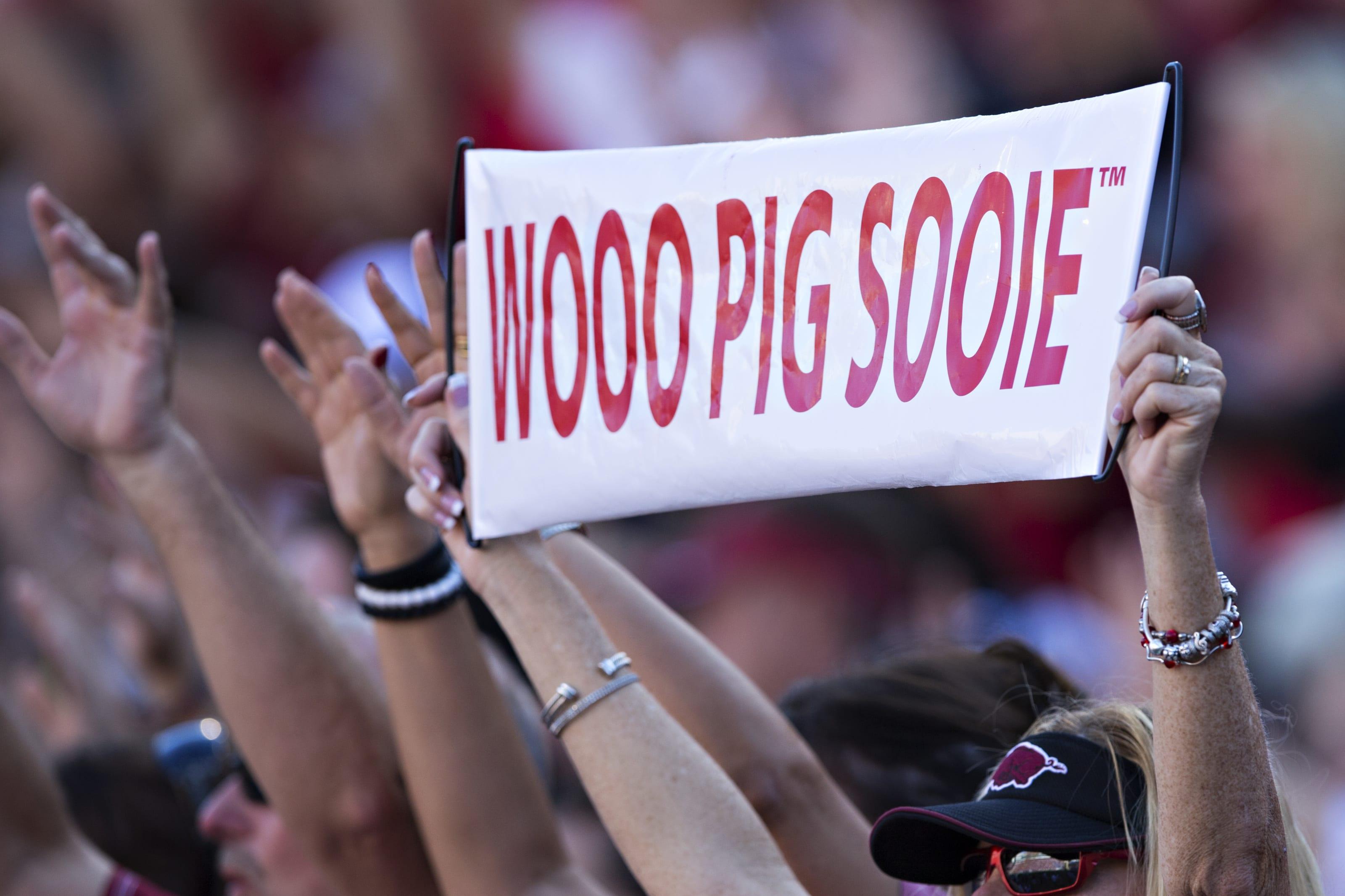 Arkansas football fans.