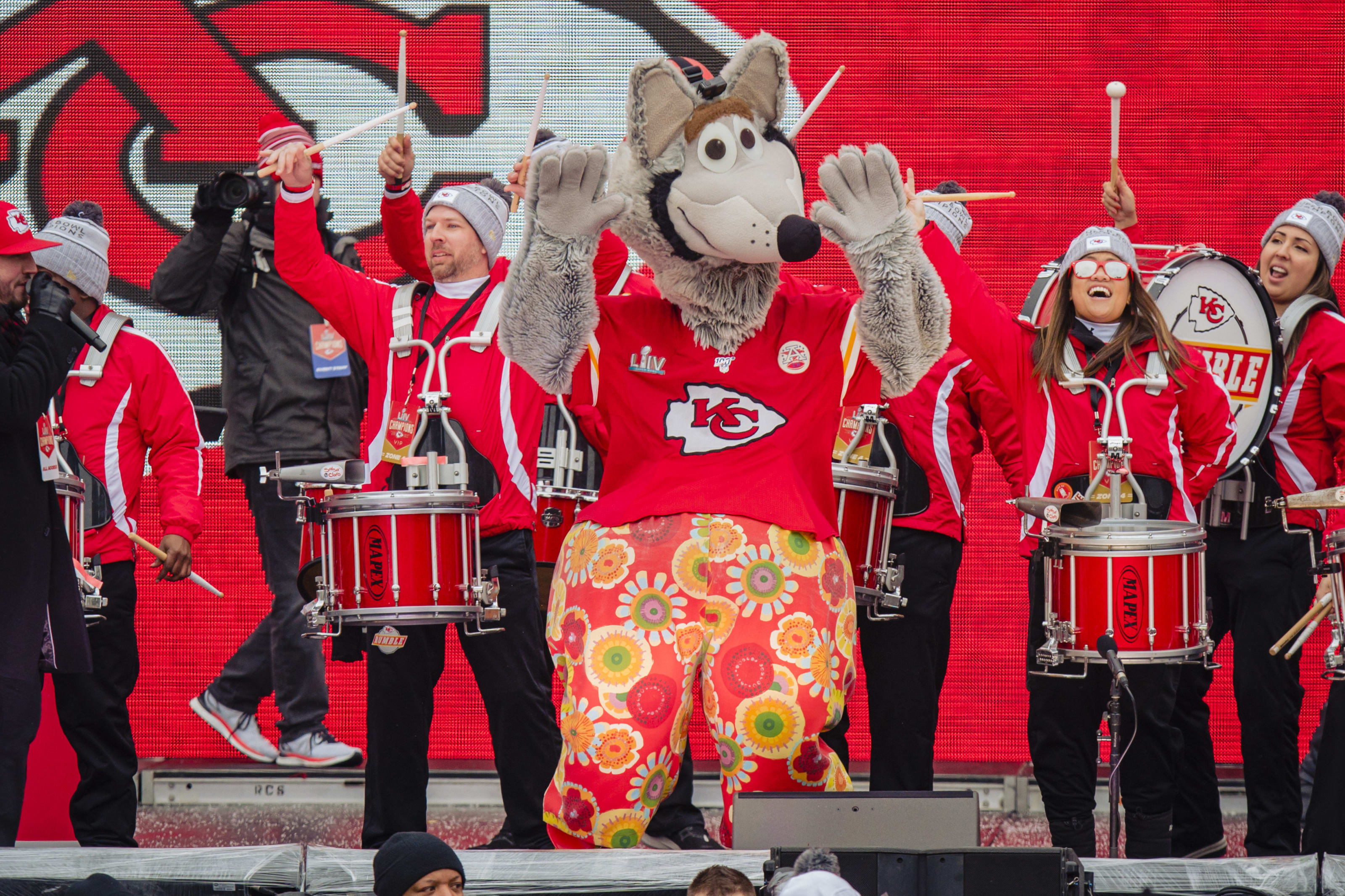 KC Wolf, Kansas City Chiefs