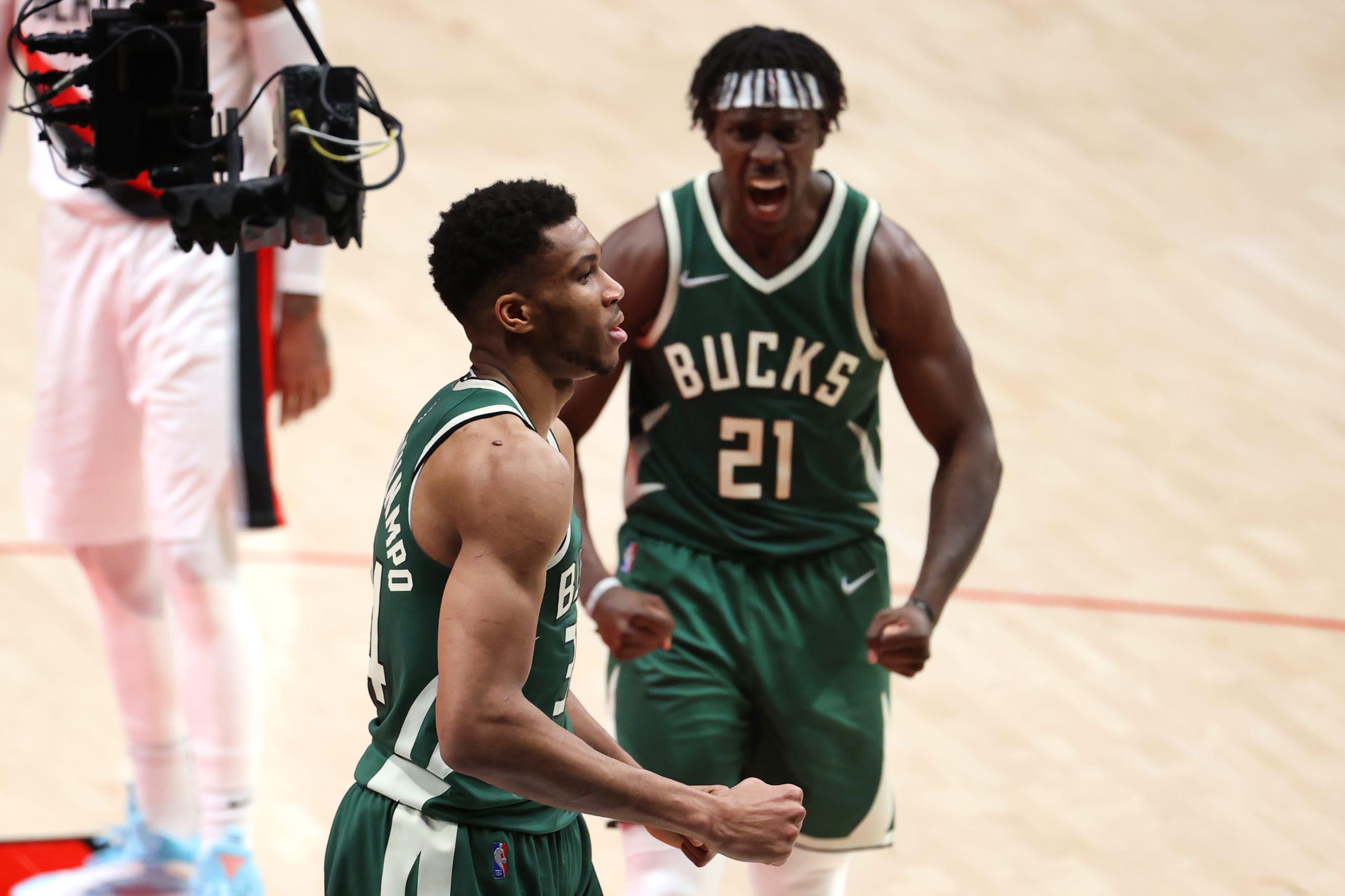 Milwaukee Bucks: Giannis Antetokounmpo, Jrue Holiday
