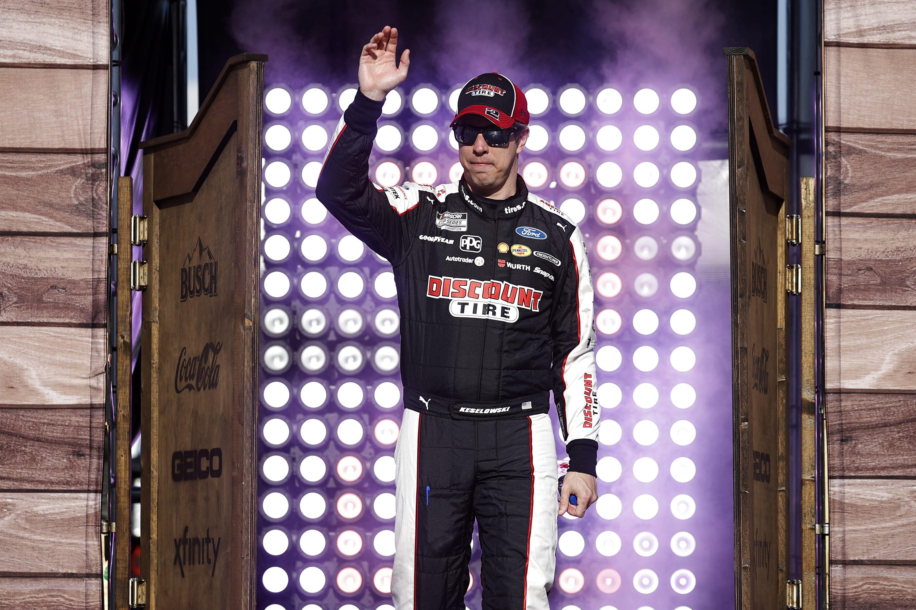 Brad Keselowski, NASCAR