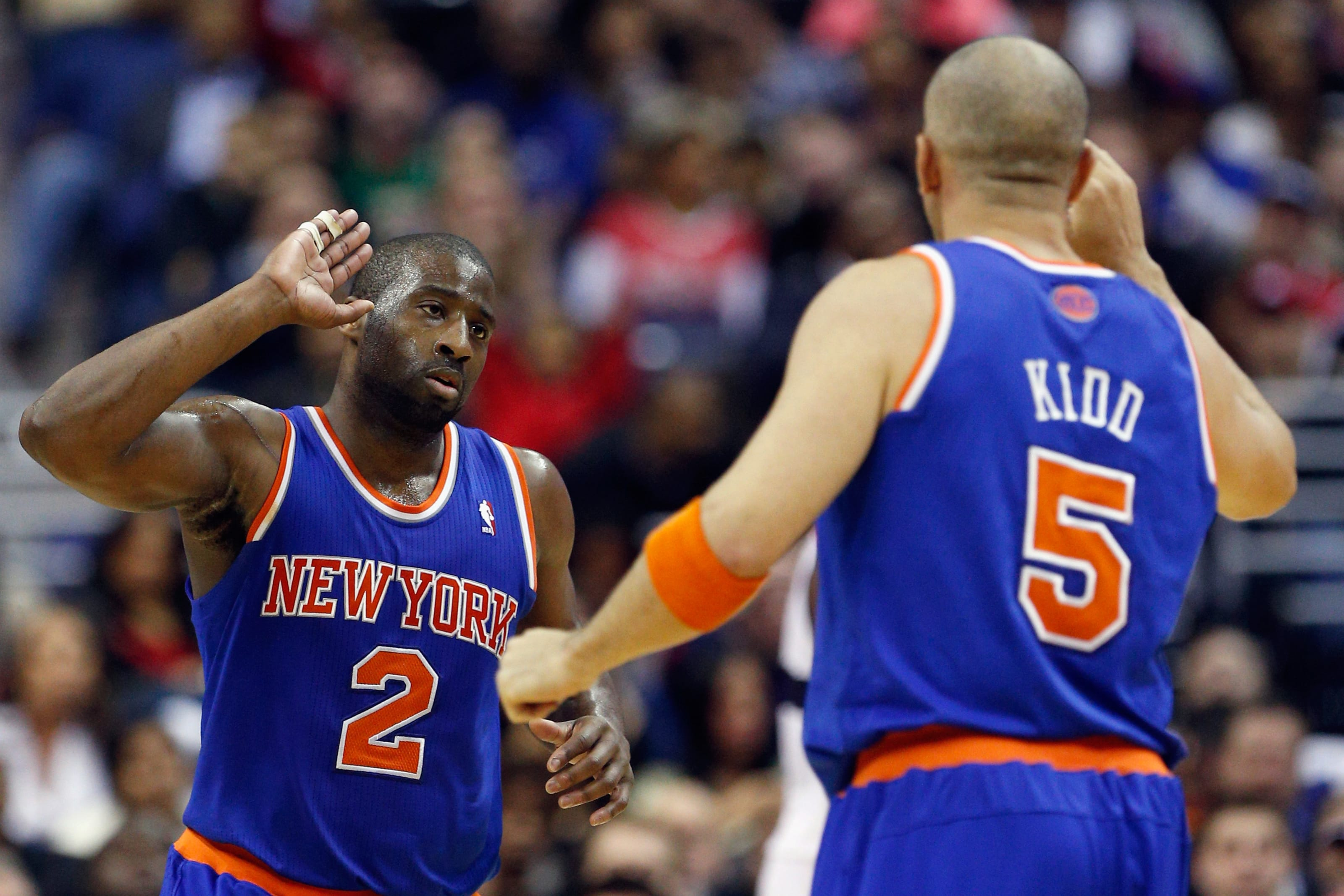 Raymond Felton, Jason Kidd, New York Knicks