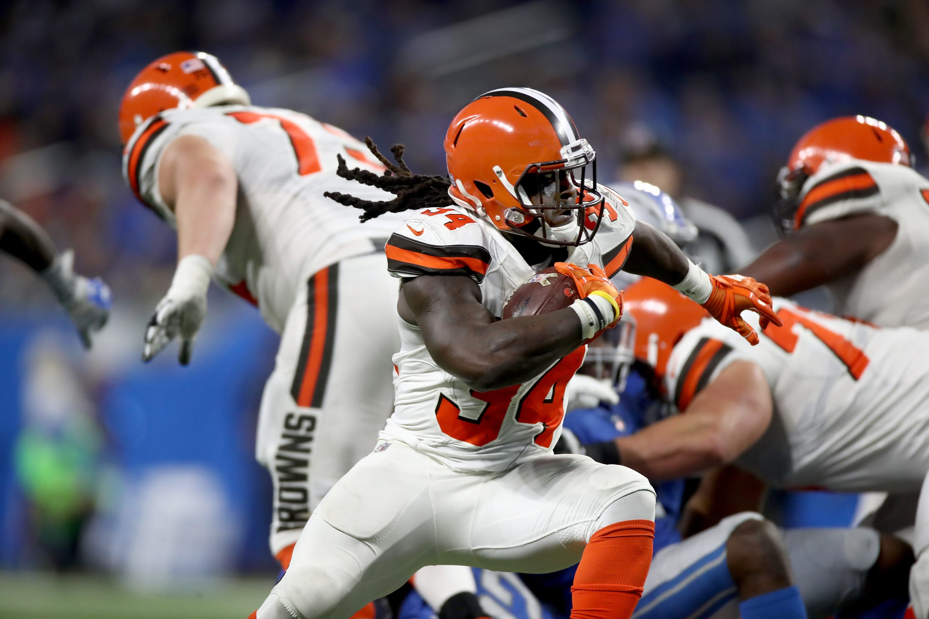 Isaiah Crowell, Cleveland Browns