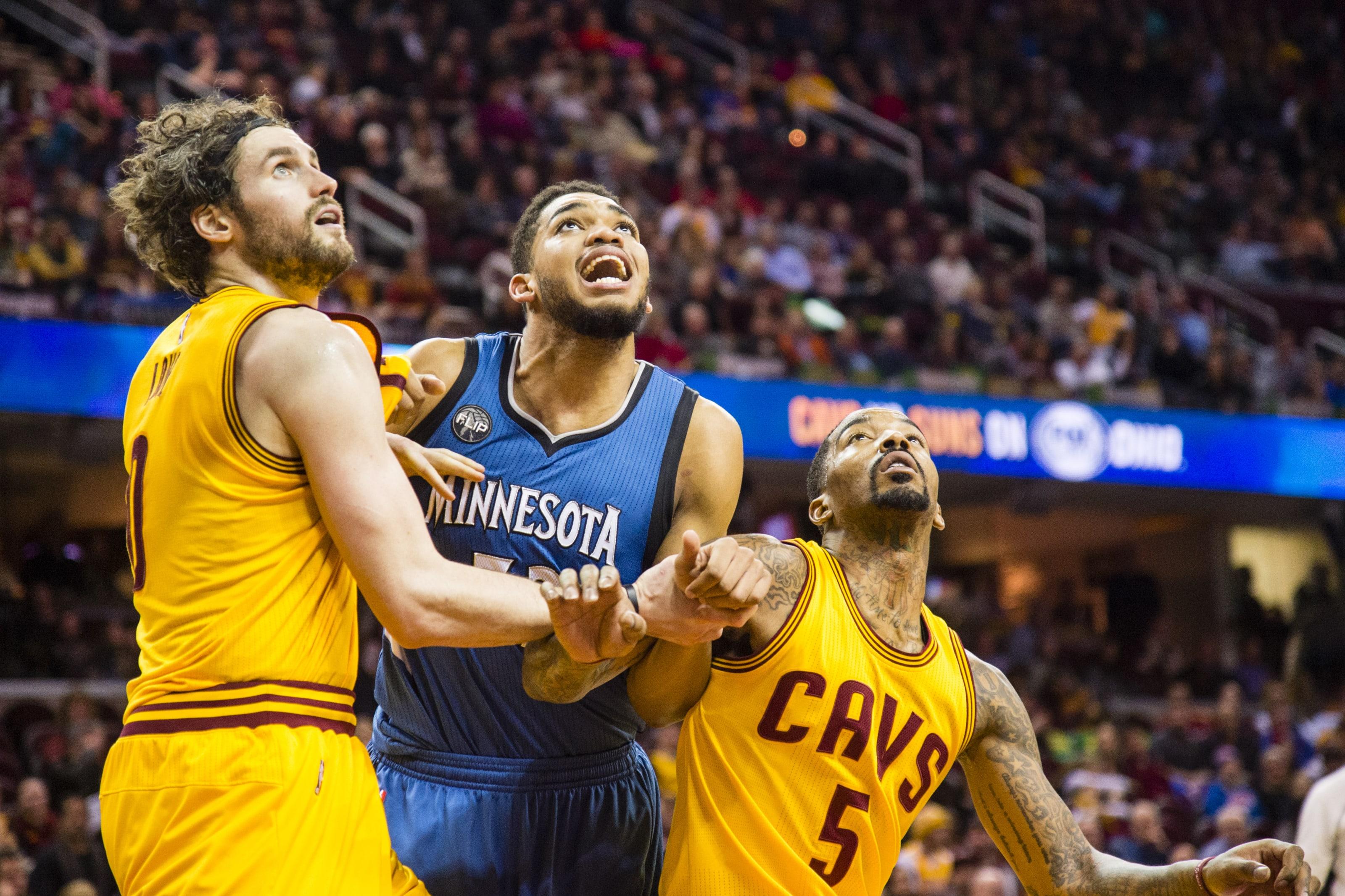 Minnesota Timberwolves, Karl-Anthony Towns, Kevin Love
