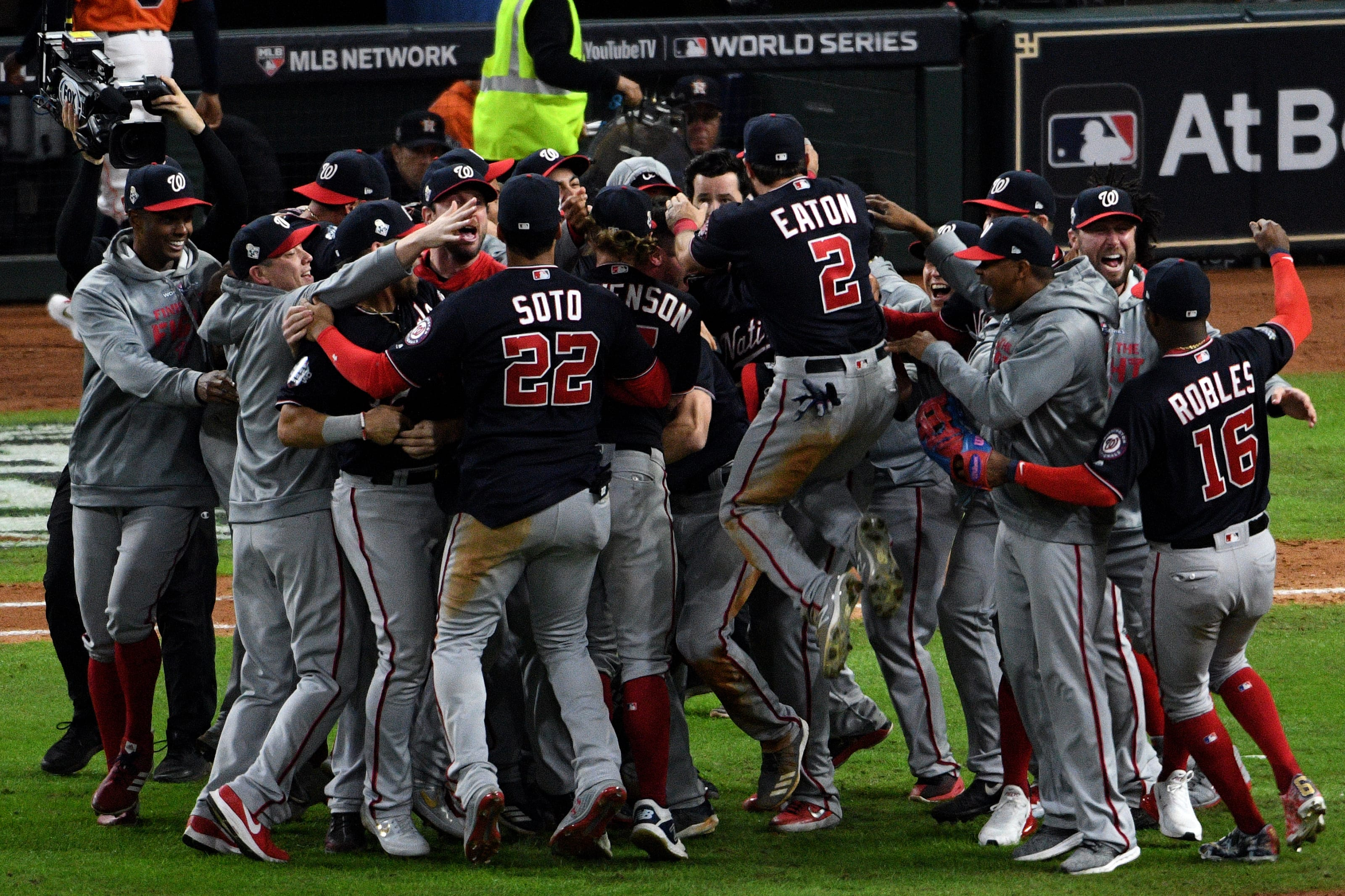 Re Live The Washington Nationals World Series Victory