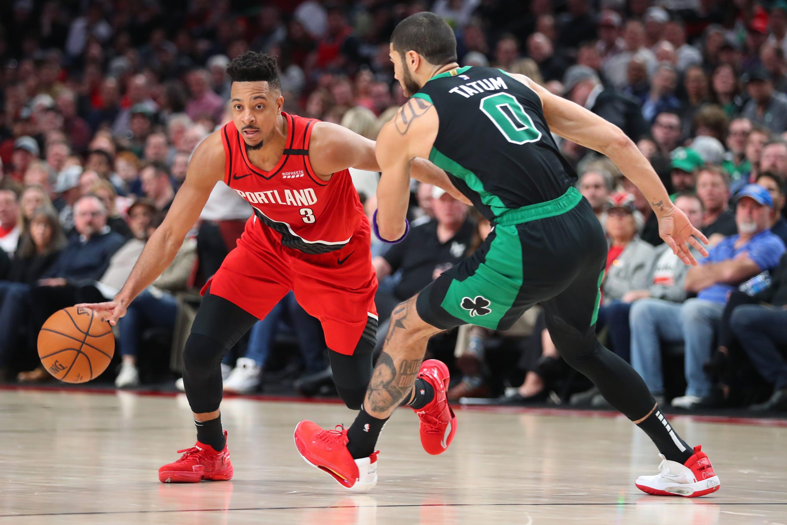 Portland Trail Blazers Boston Celtics