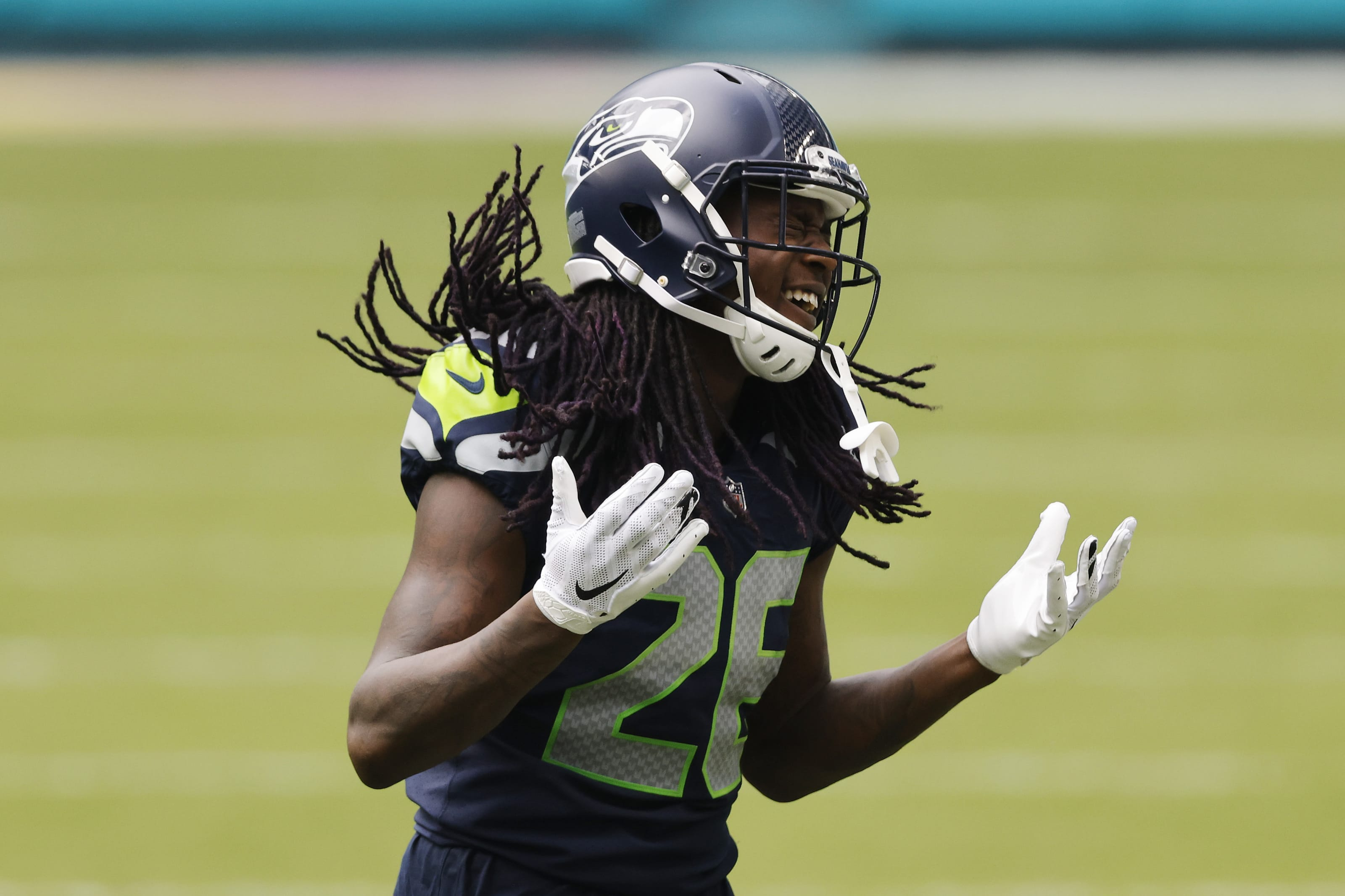 Panthers free agency rumors, Shaquill Griffin