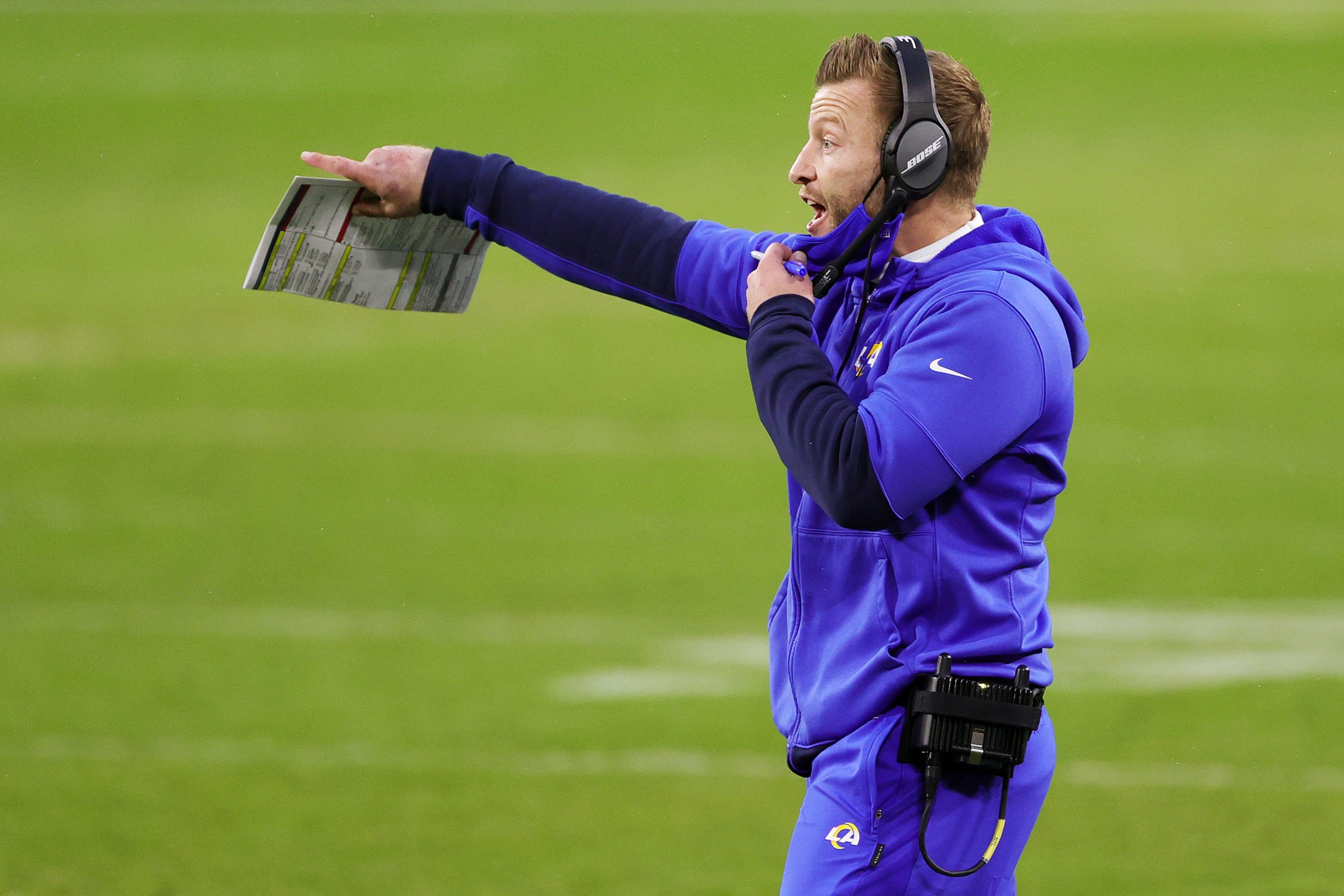 Rams mock draft, Sean McVay