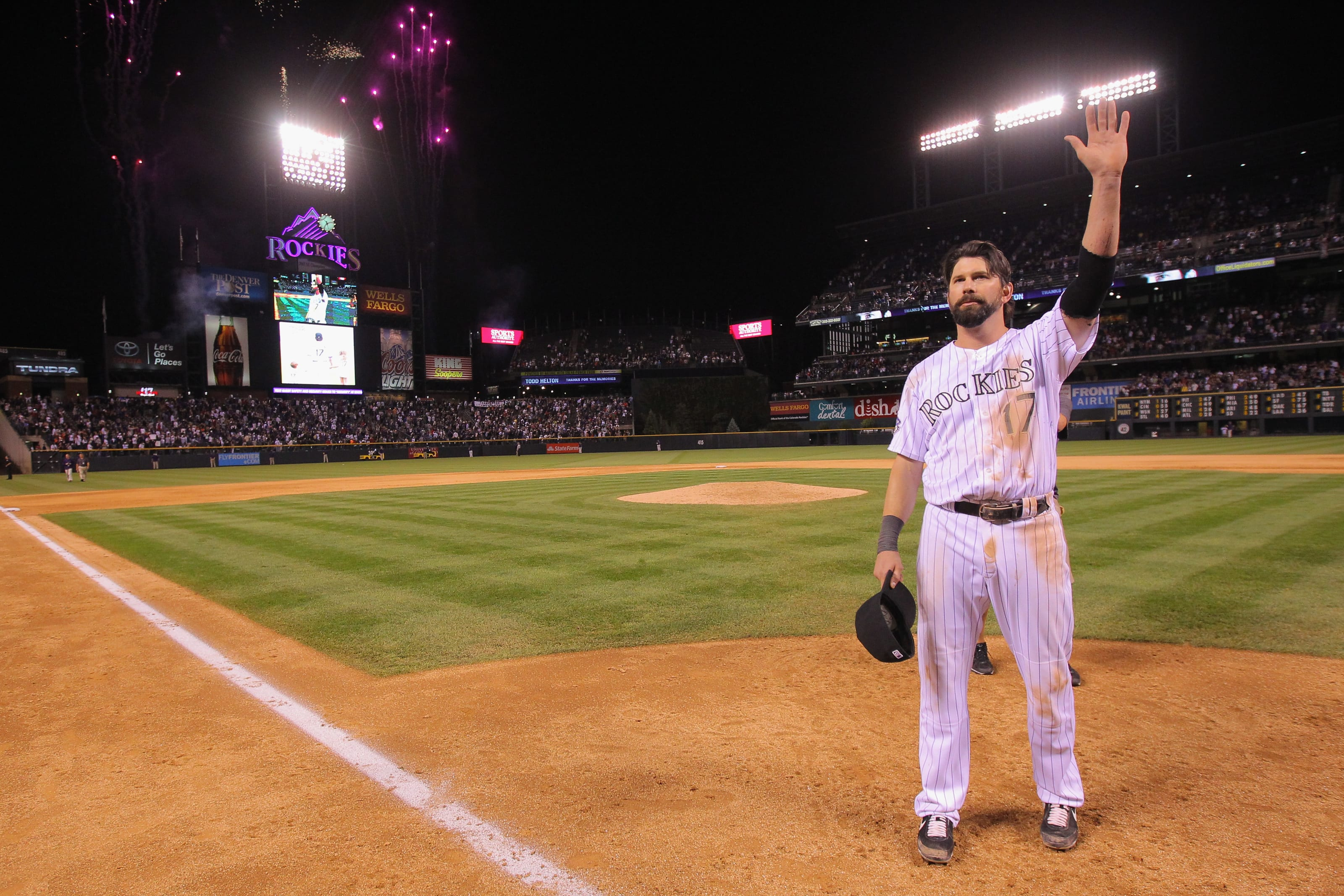 Todd Helton, Colorado Rockies, FanSided Mock Baseball Hall of Fame