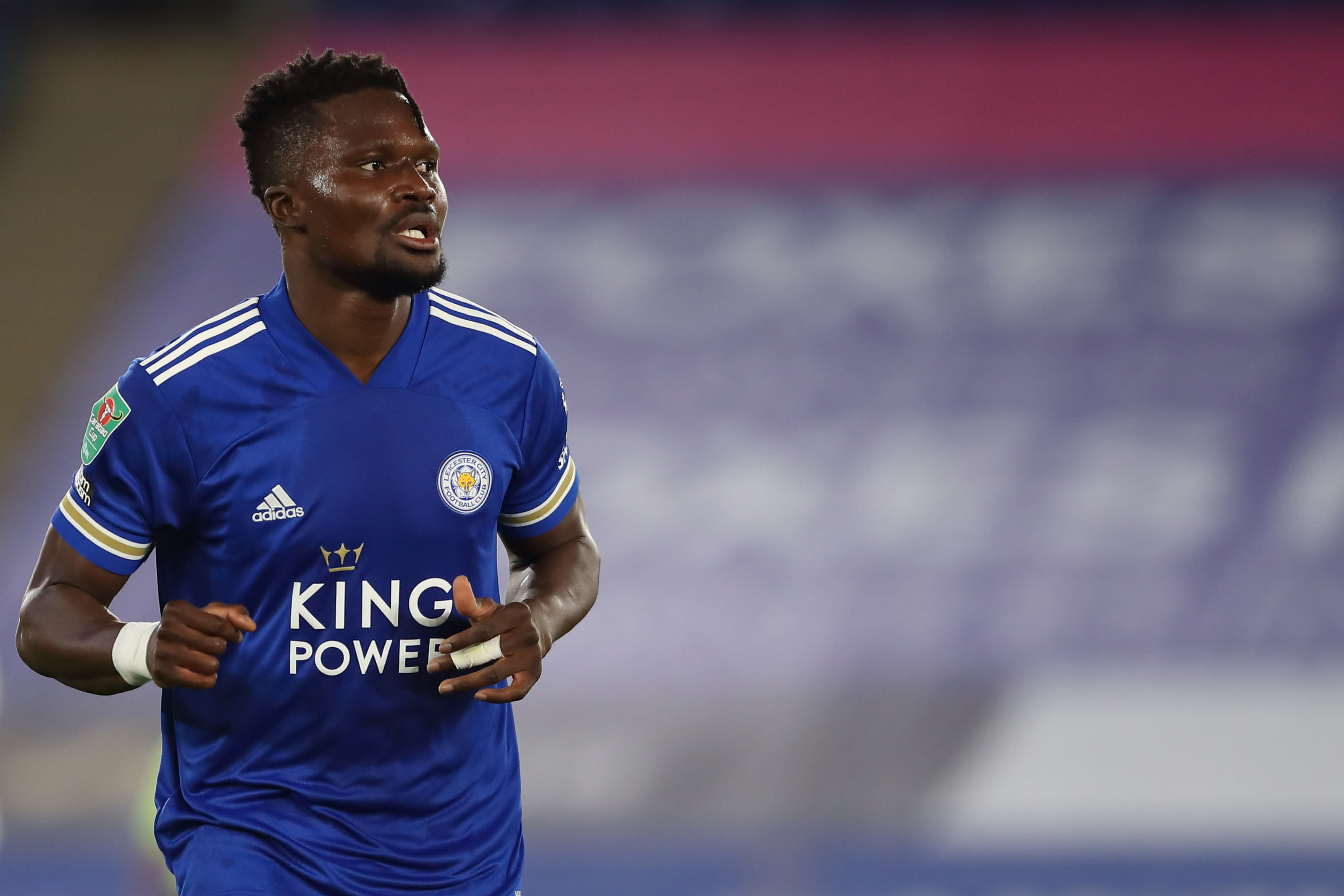 Leicester City defender will be assessed after suffering injury
