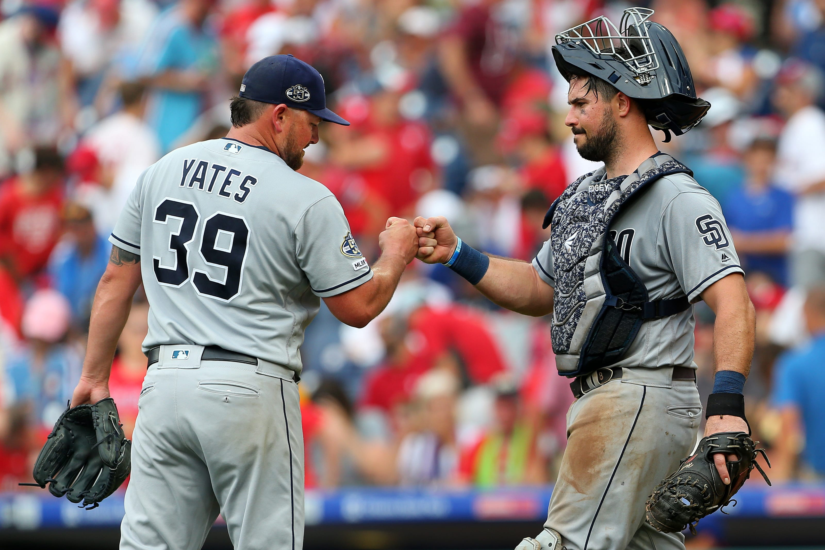 San Diego Padres Kirby Yates and Austin Hedges stole the show along with Luis Urías in series win