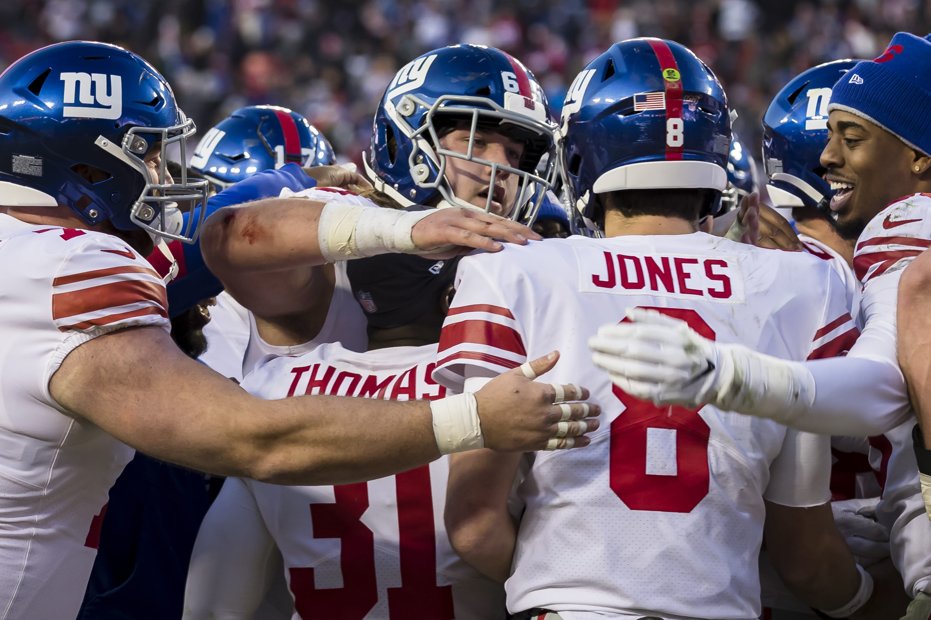 New York Giants free agent options