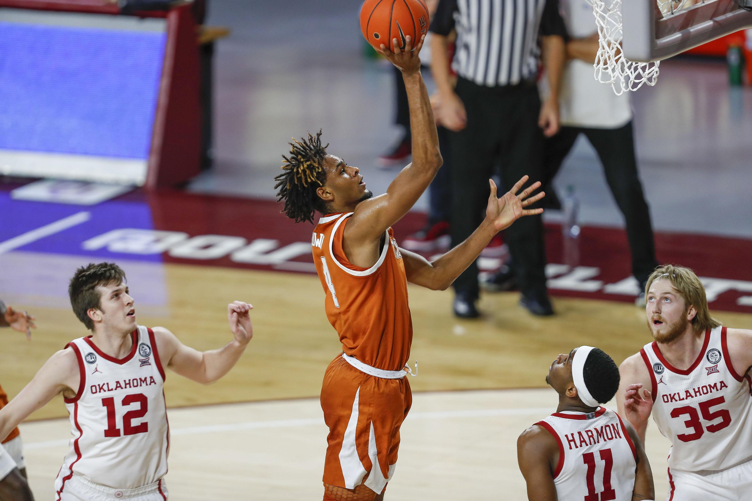 Greg Brown, Texas Basketball