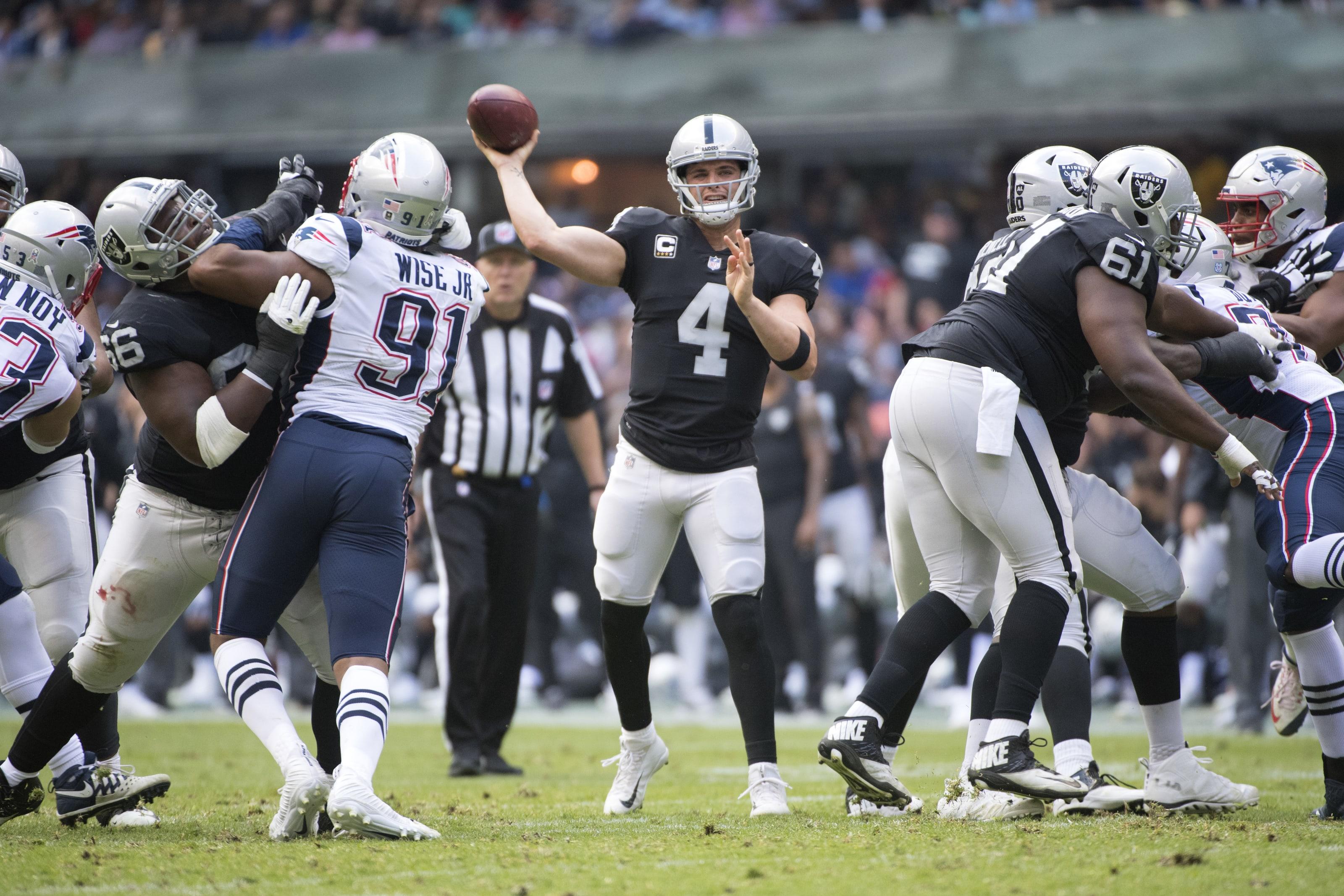 Las Vegas Raiders At New England Patriots 3 Bold Predictions