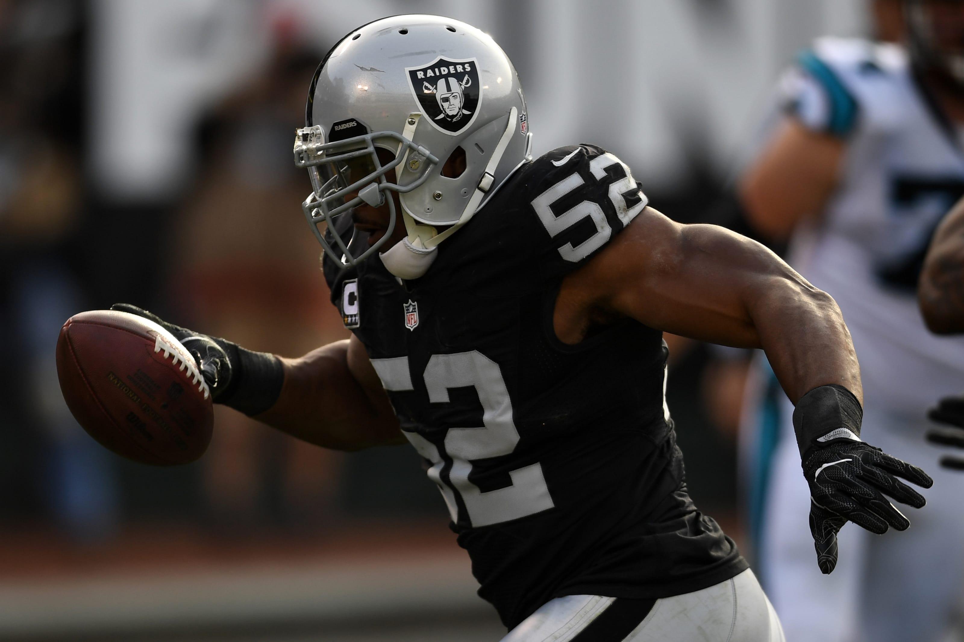 Khalil Mack, Oakland Raiders