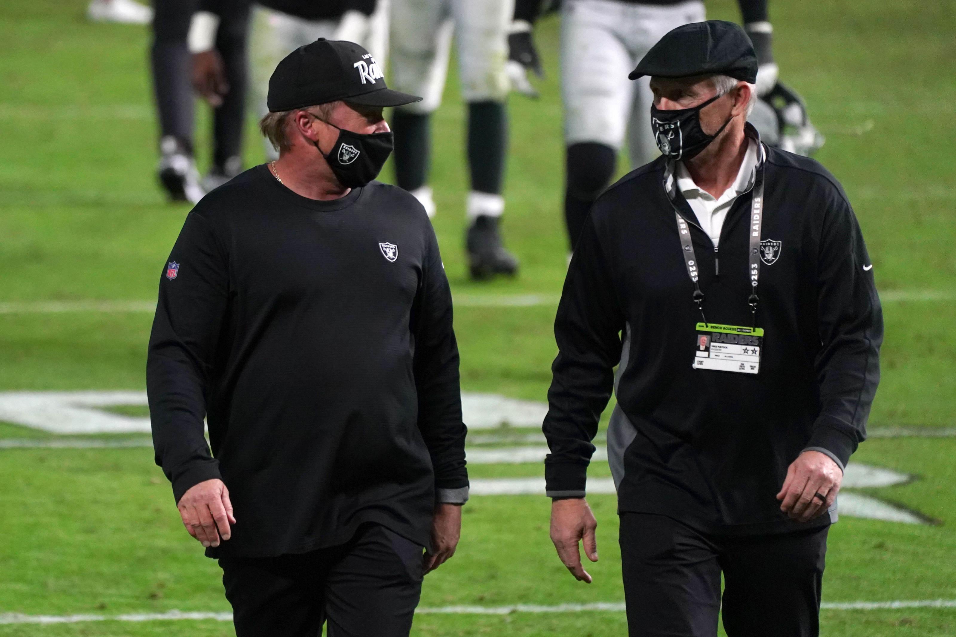 Raiders throttled Denver Sunday