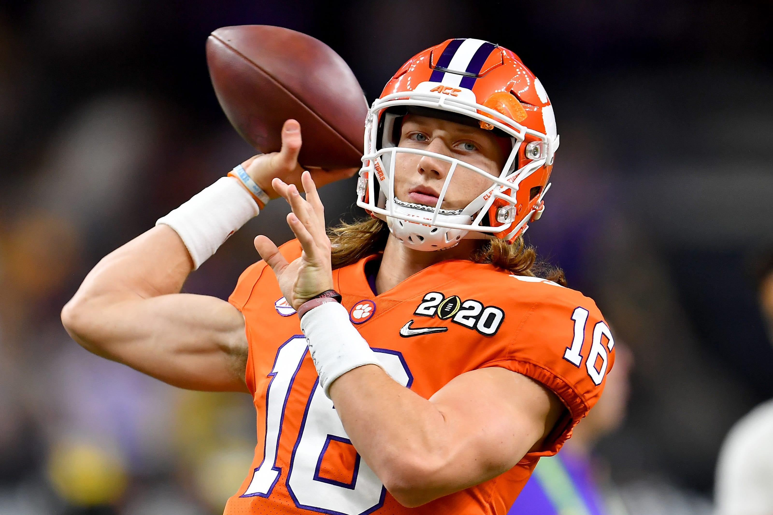 Trevor Lawrence, 2021 NFL mock draft, Jacksonville Jaguars