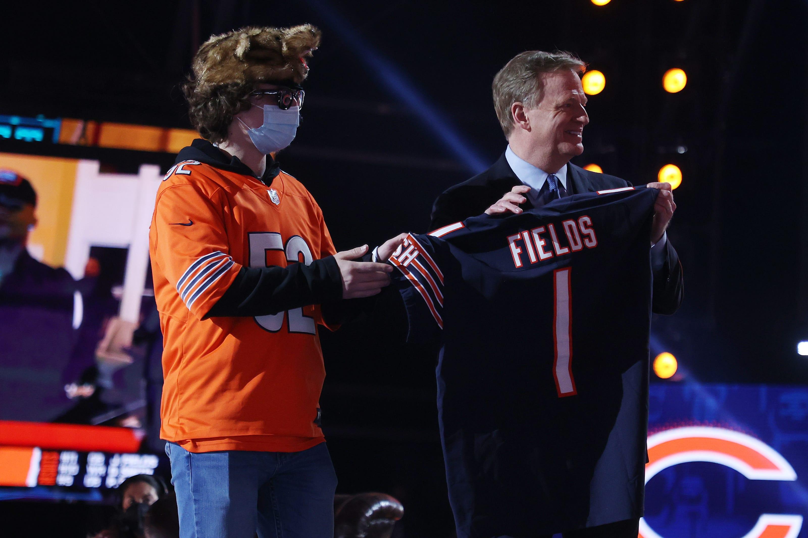 Chicago Bears, Justin Fields, 2021 NFL Draft