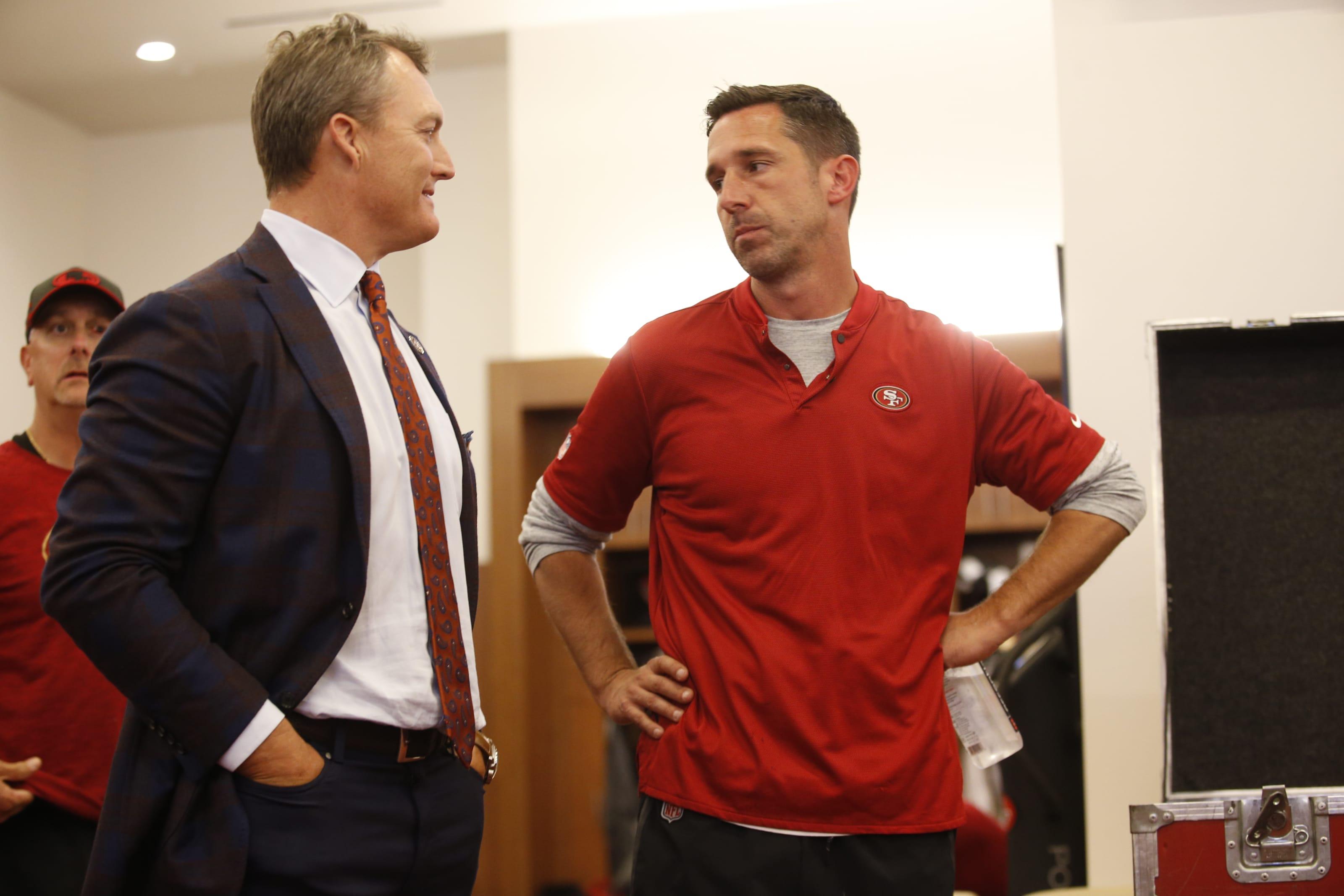 John Lynch, Kyle Shanahan, 49ers