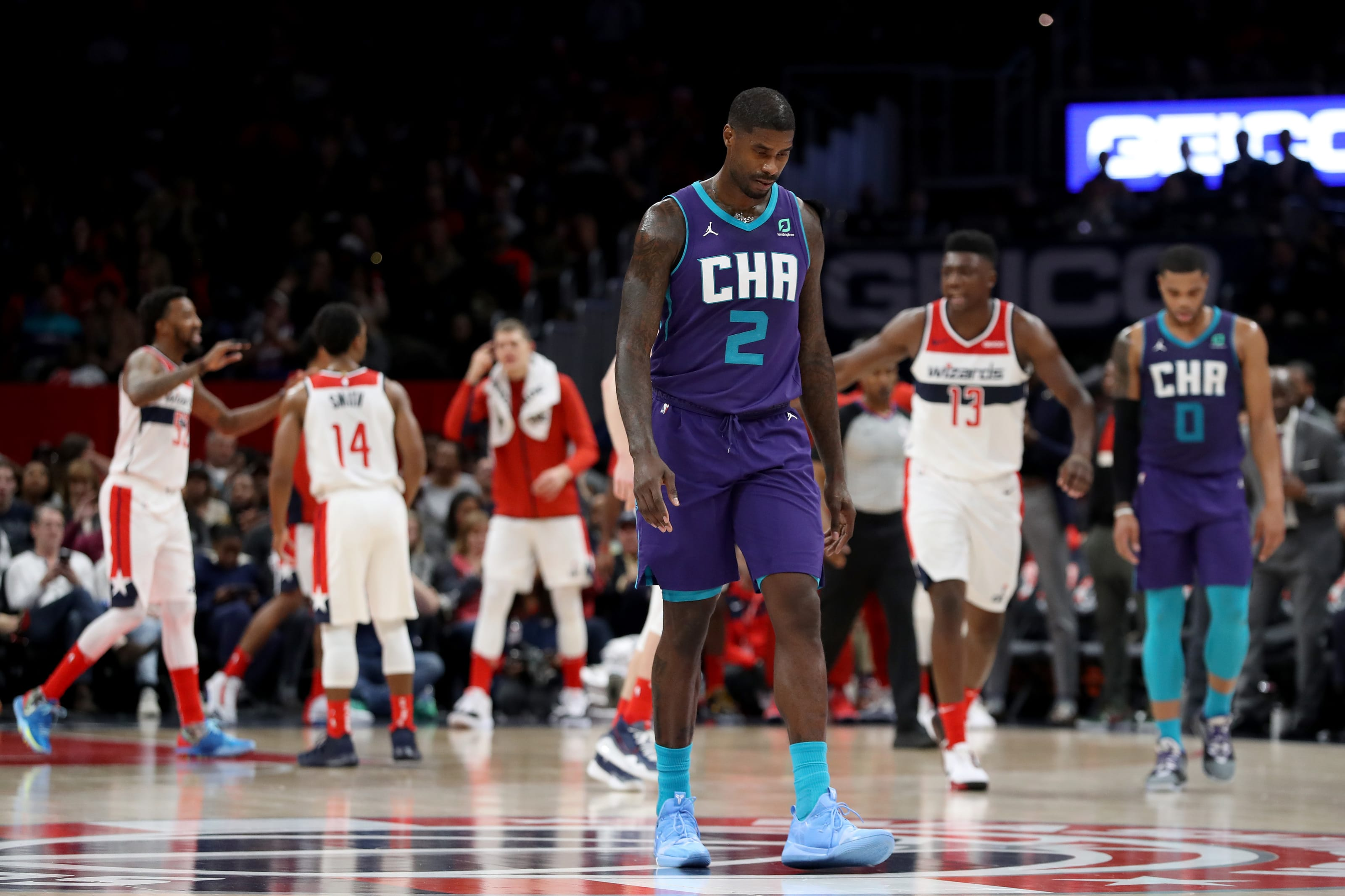 Marvin Williams of the Charlotte Hornets