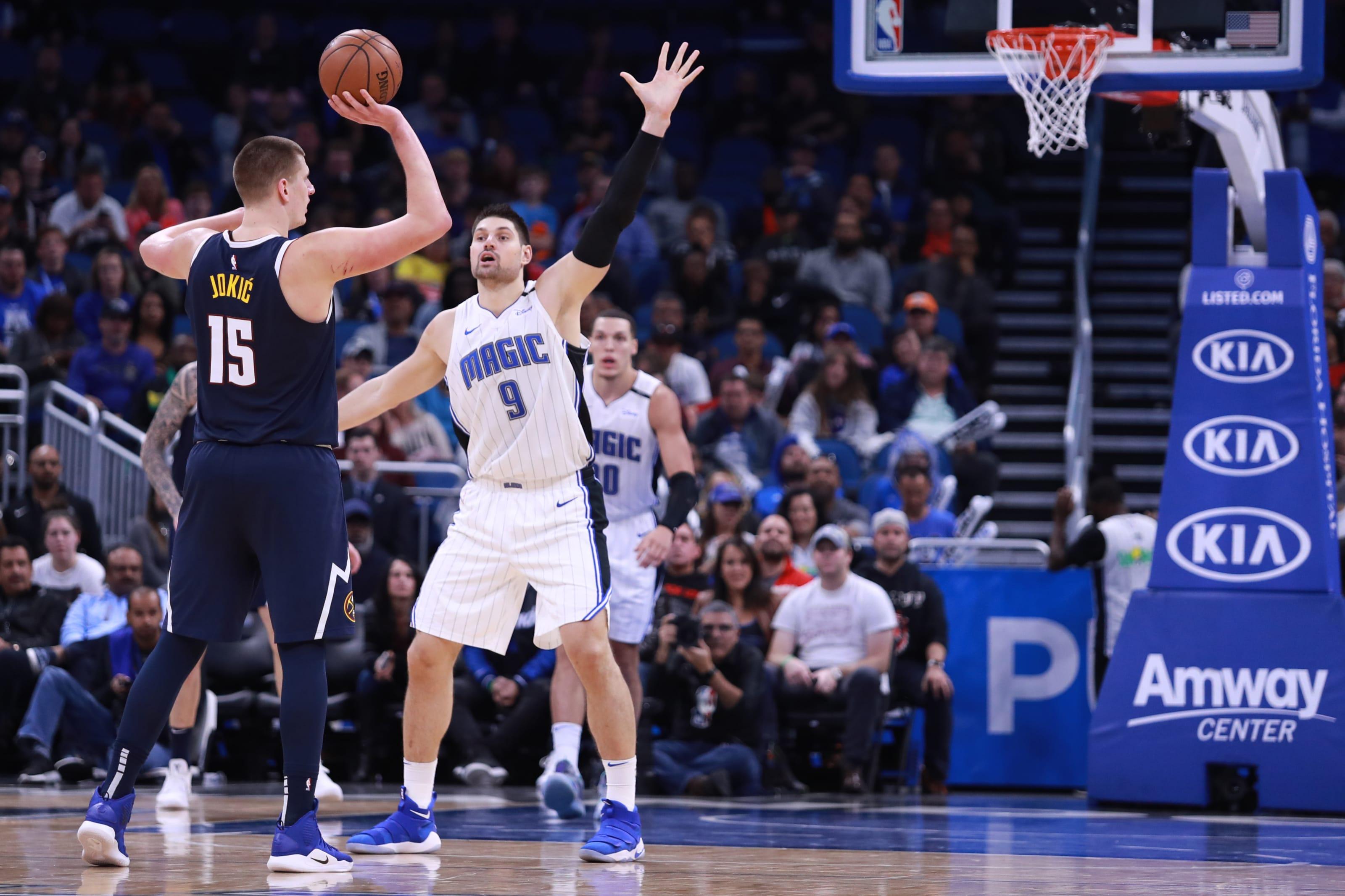 Nikola Jokic, Denver Nuggets, Nikola Vucevic, Orlando Magic