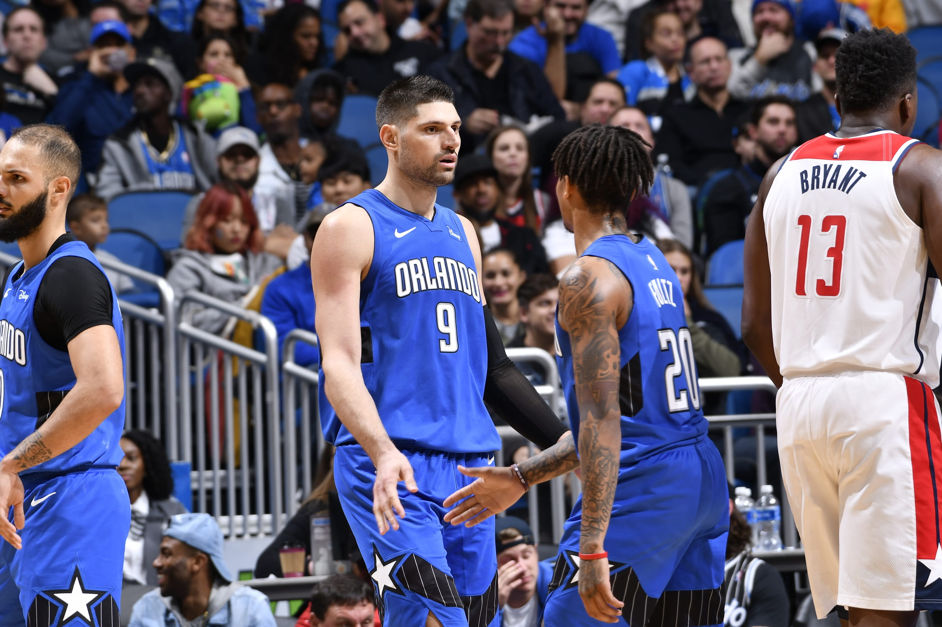 Markelle Fultz, Nikola Vucevic, Orlando Magic