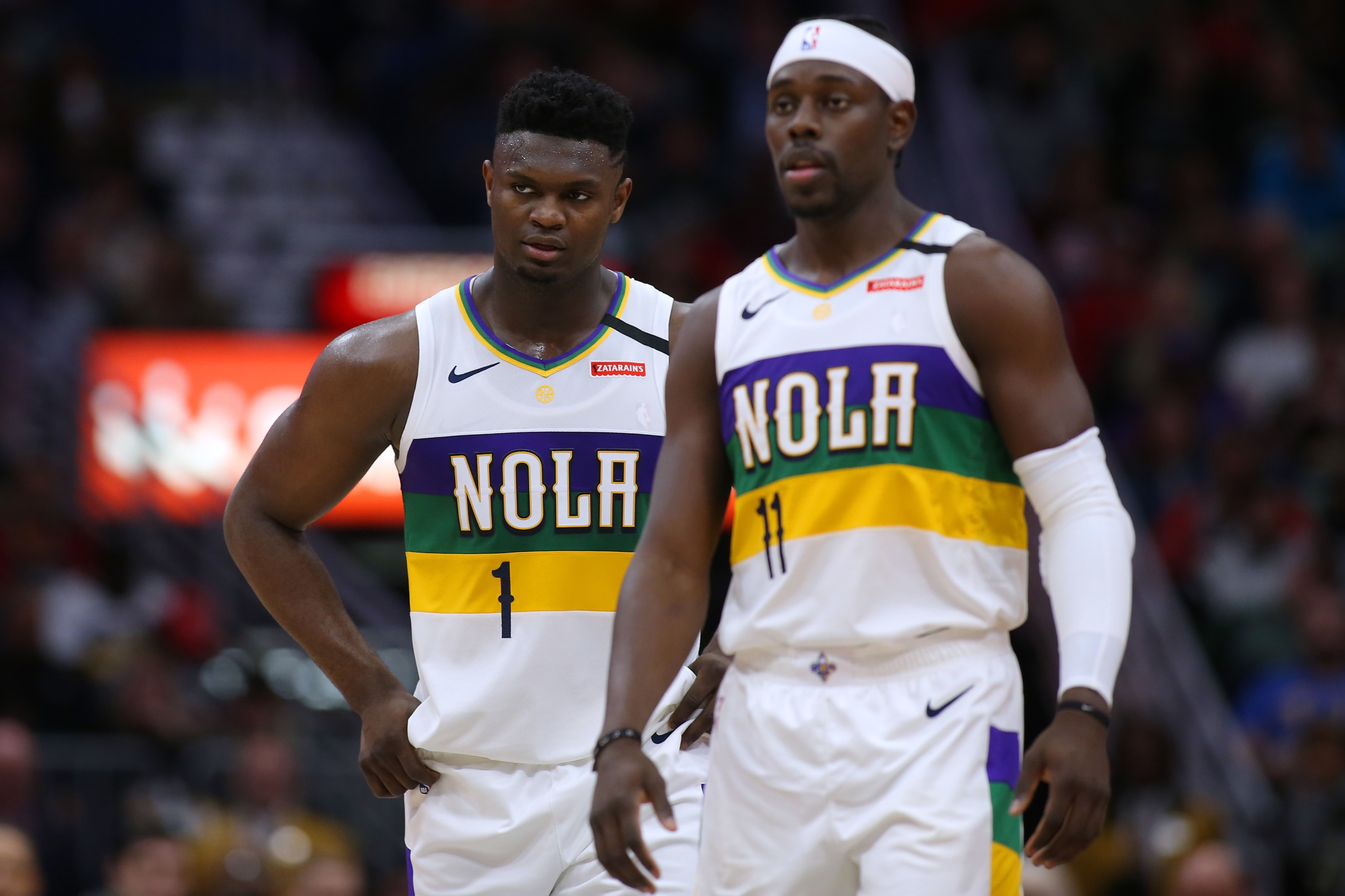 New Orleans Pelicans, Jrue Holiday, Zion Williamson, Western Conference Playoffs