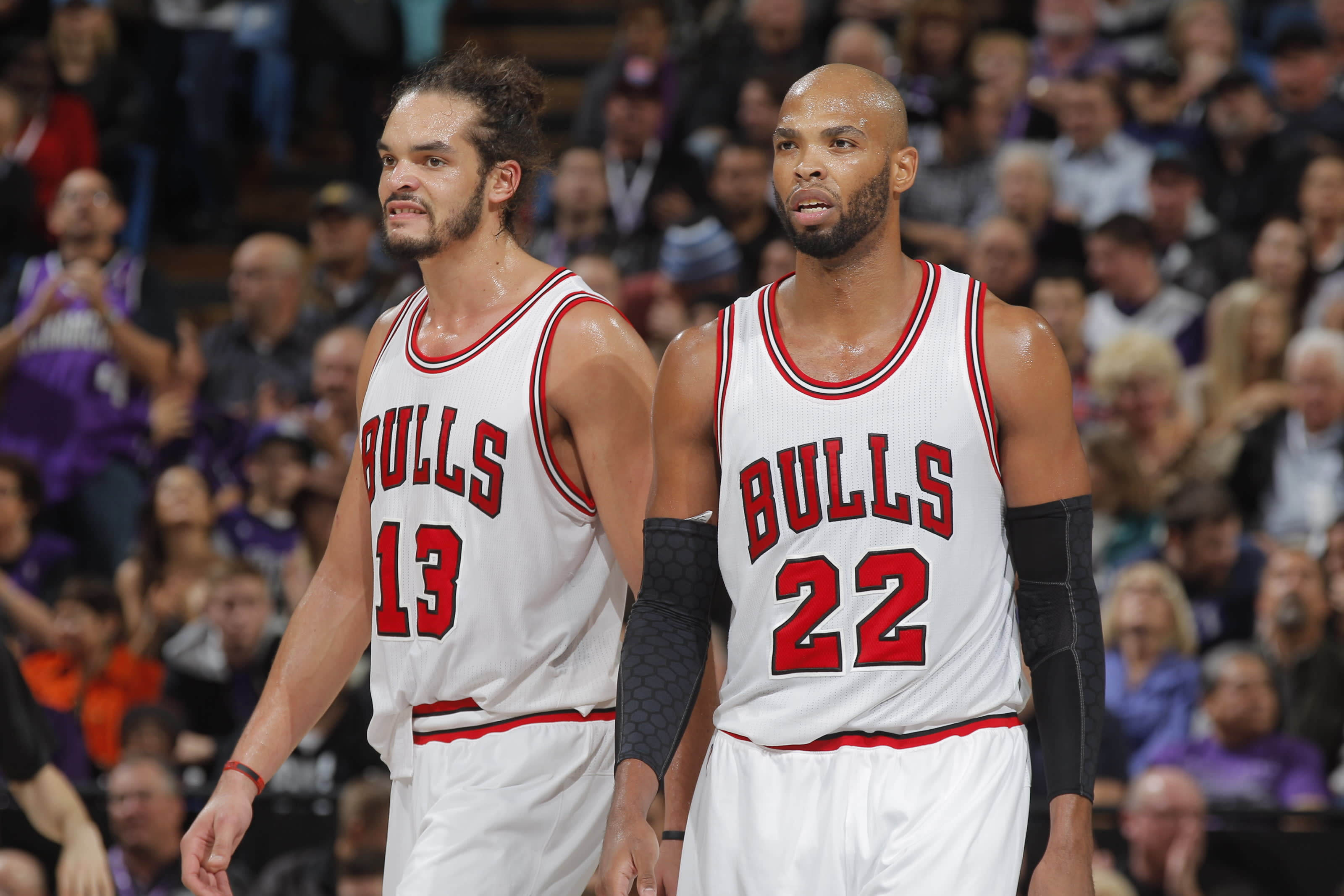 Taj Gibson, Joakim Noah, Chicago Bulls