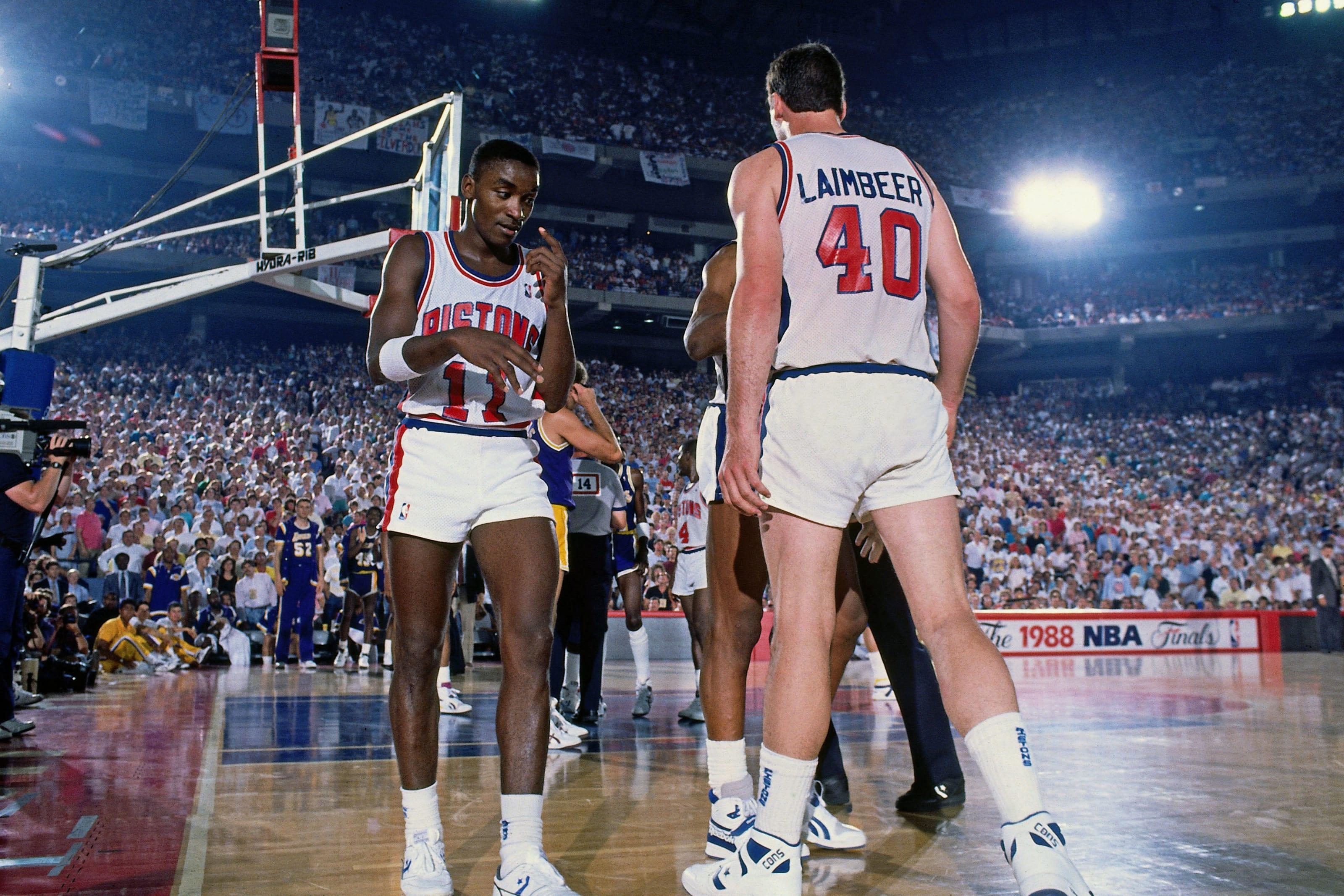 Isiah Thomas, Bill Laimbeer, Detroit Pistons
