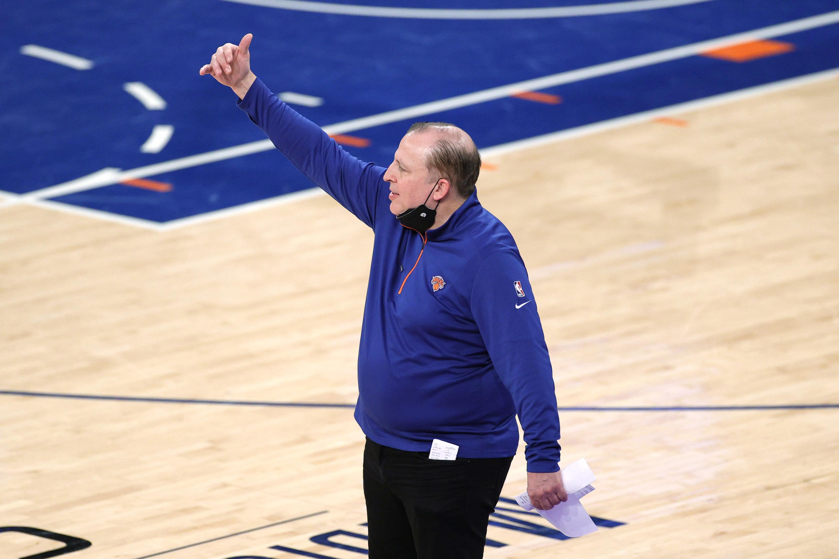 Tom Thibodeau, Knicks, Toronto Raptors