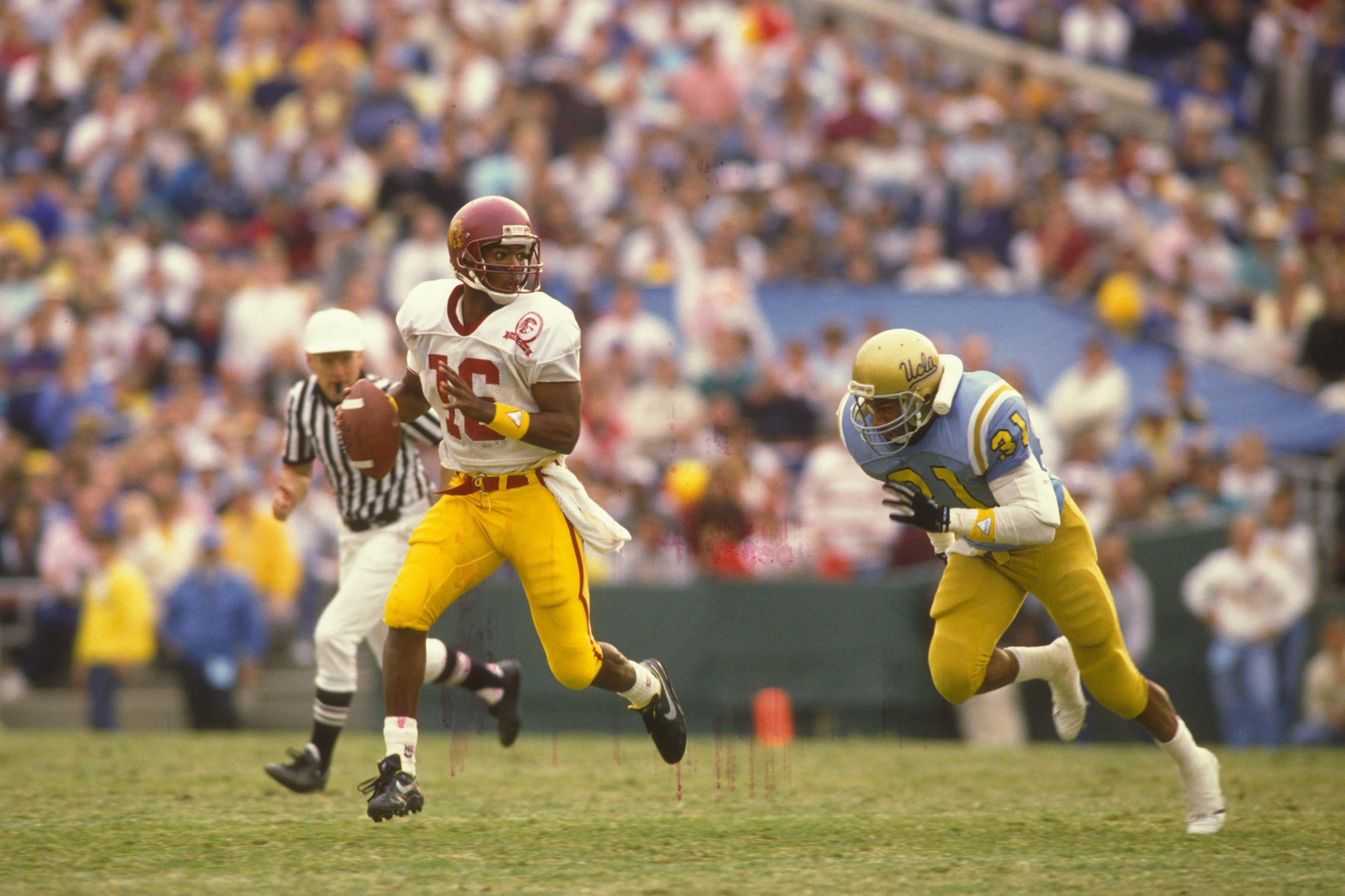 Rodney Peete #16 USC Quarterback