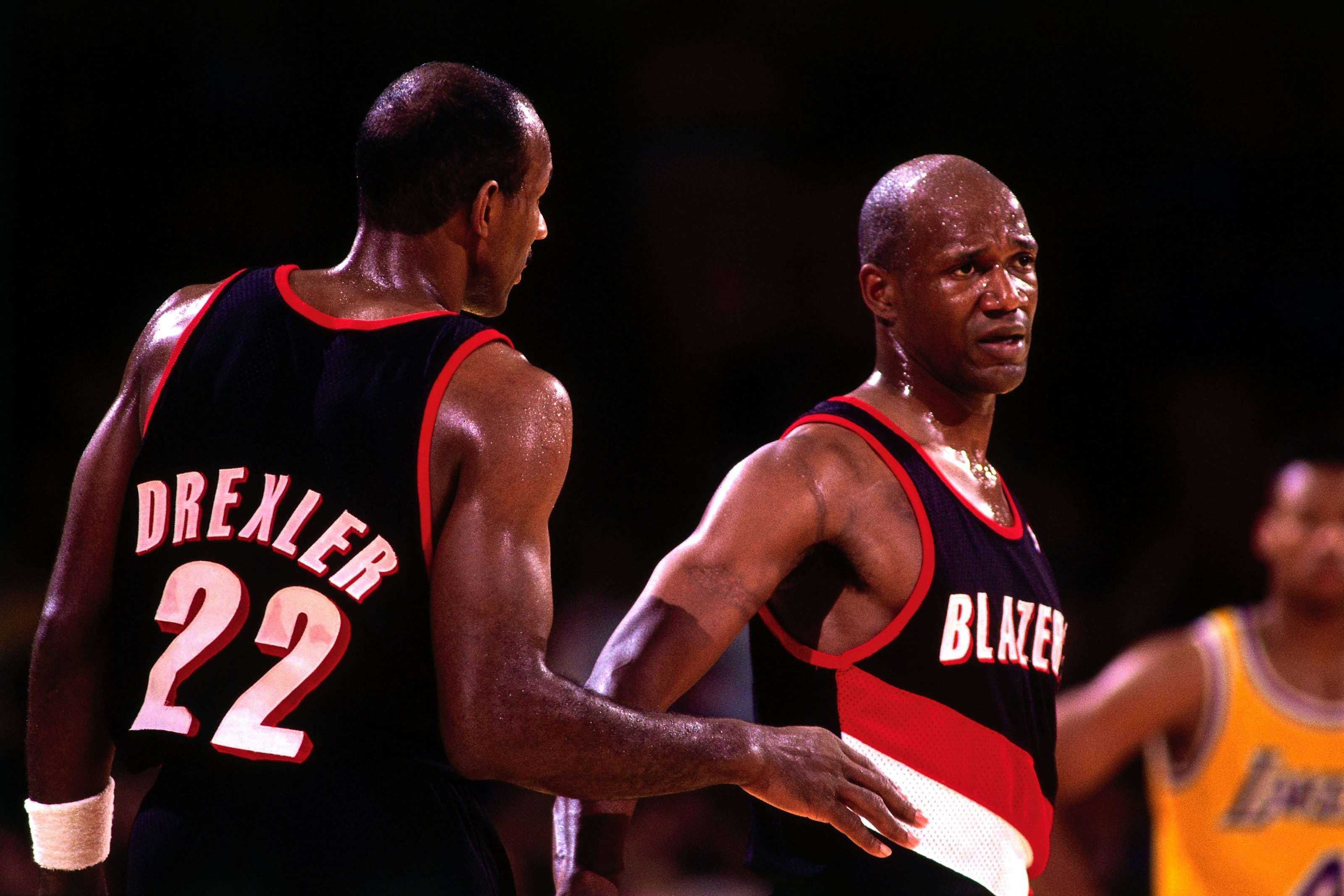 Clyde Drexler, Terry Porter, Portland Trail Blazers