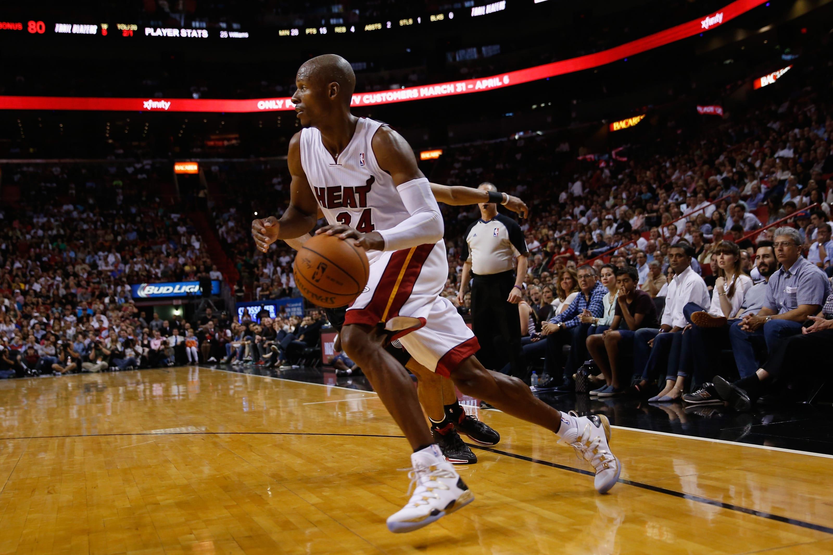 Ray Allen, Miami Heat, Portland Trail Blazers
