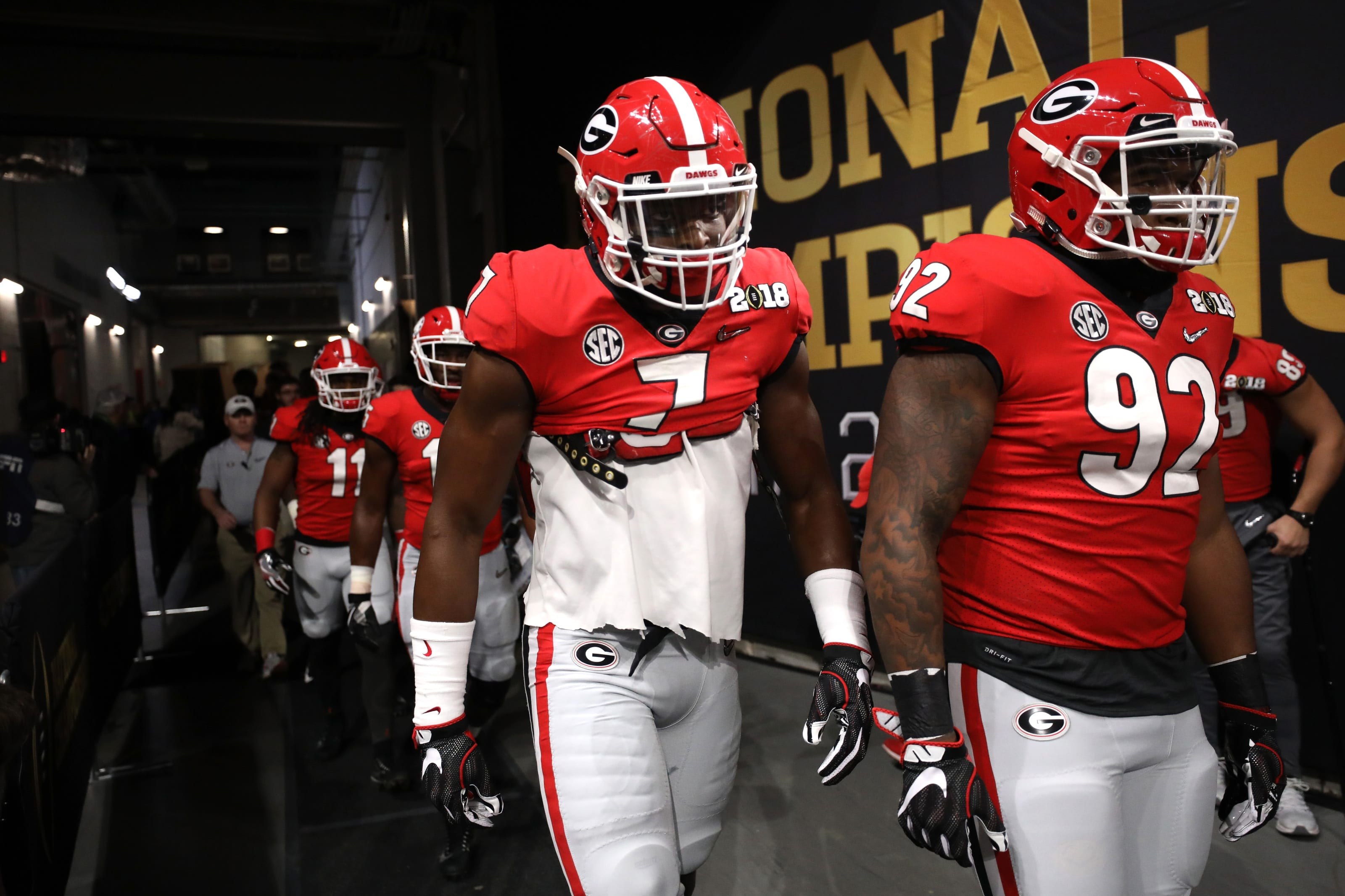Georgia Football 5 Players Trending Up After Spring 2019 Page 3