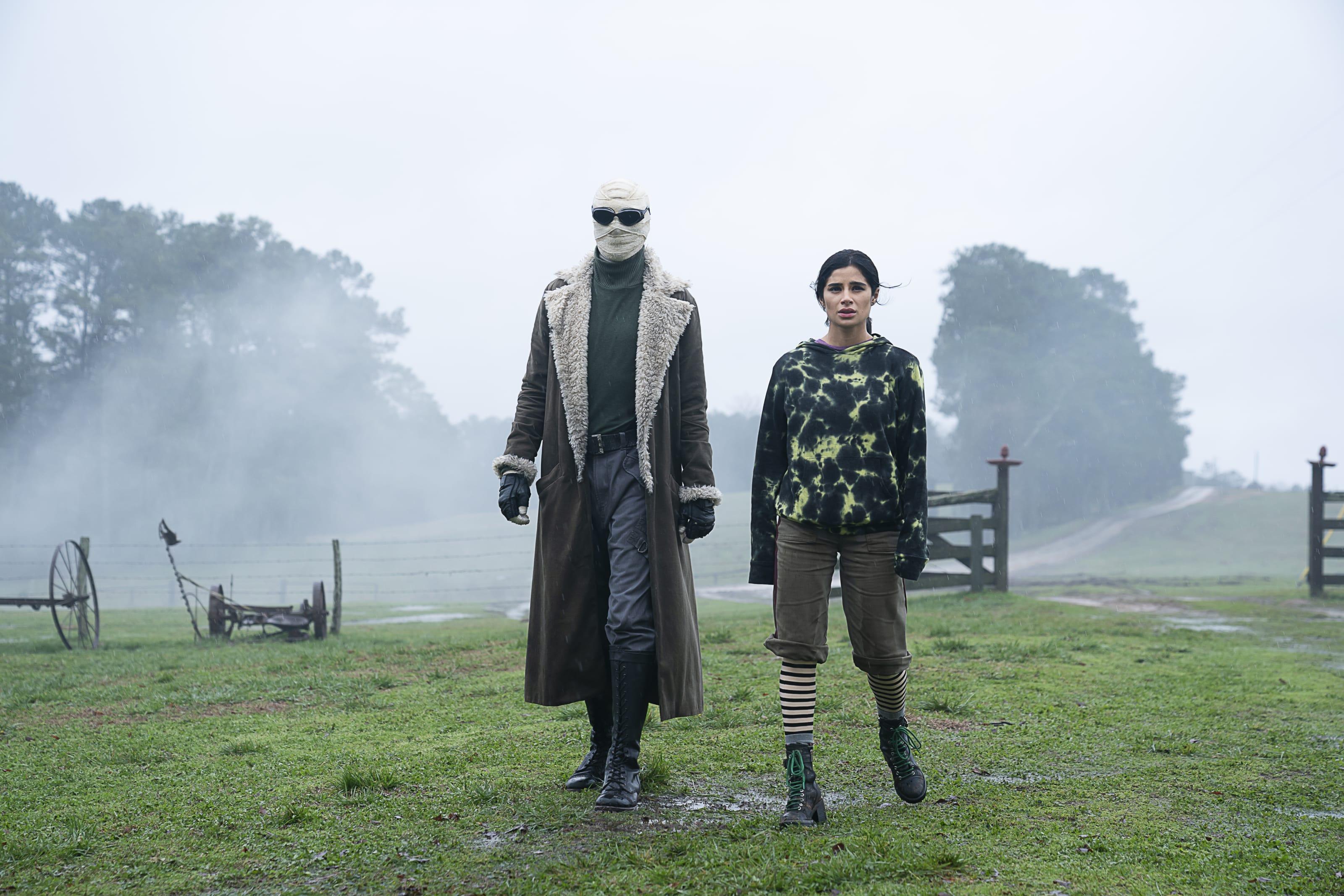 Larry Trainor and Jane in Doom Patrol Season 2, Episode 8.