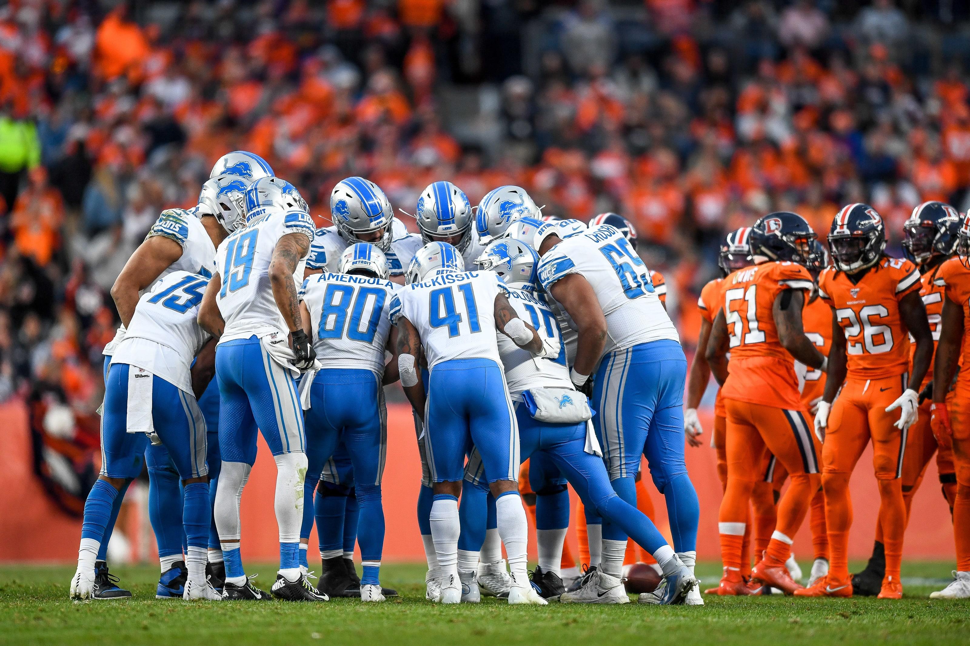 Detroit Lions offense